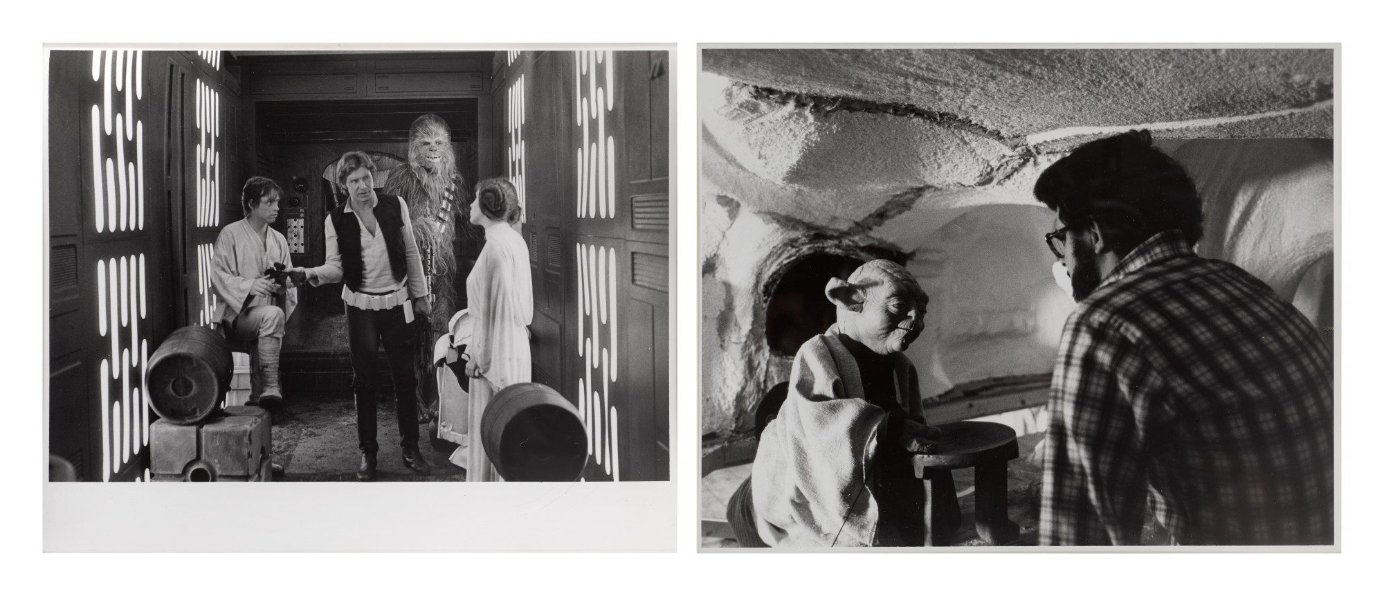STAR WARS (1977) AND THE EMPIRE STRIKES BACK (1980) ORIGINAL PHOTOGRAPHS, US