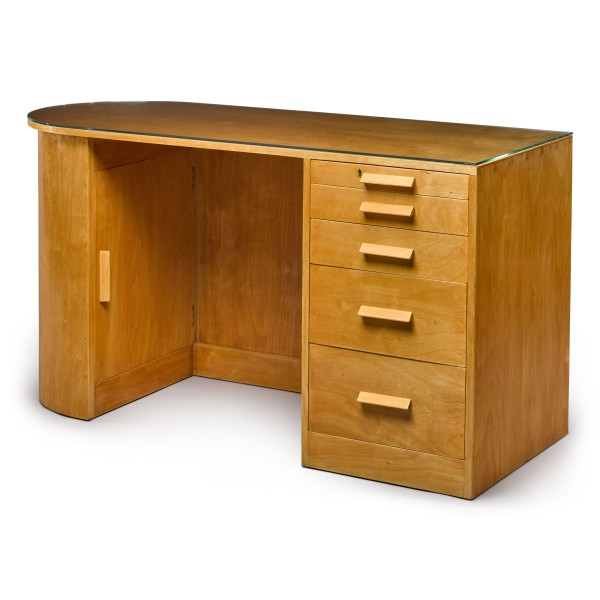 View full screen - View 1 of Lot 83. Gerald Summers, 1899-1967 | D-end Desk.