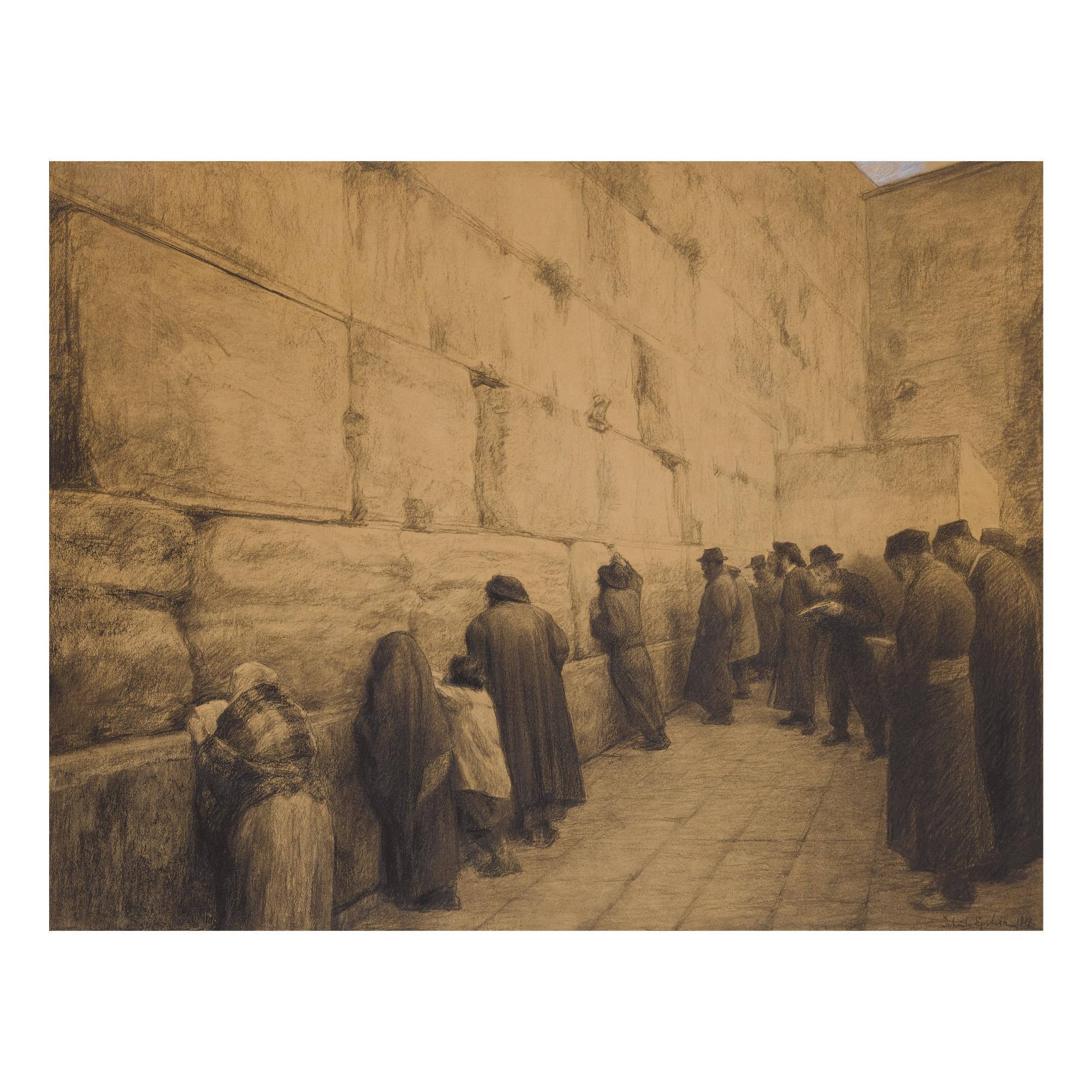 JEHUDO EPSTEIN | THE WESTERN WALL