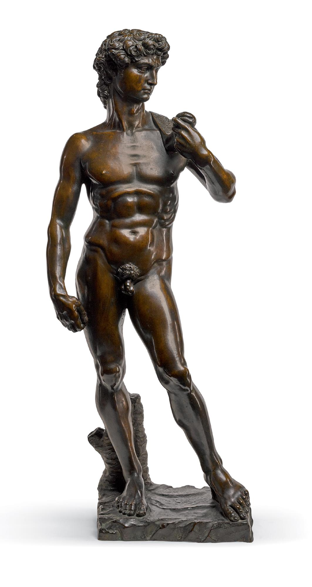AFTER A MODEL BY MICHELANGELO (1475-1564), ITALIAN, 19TH CENTURY | DAVID