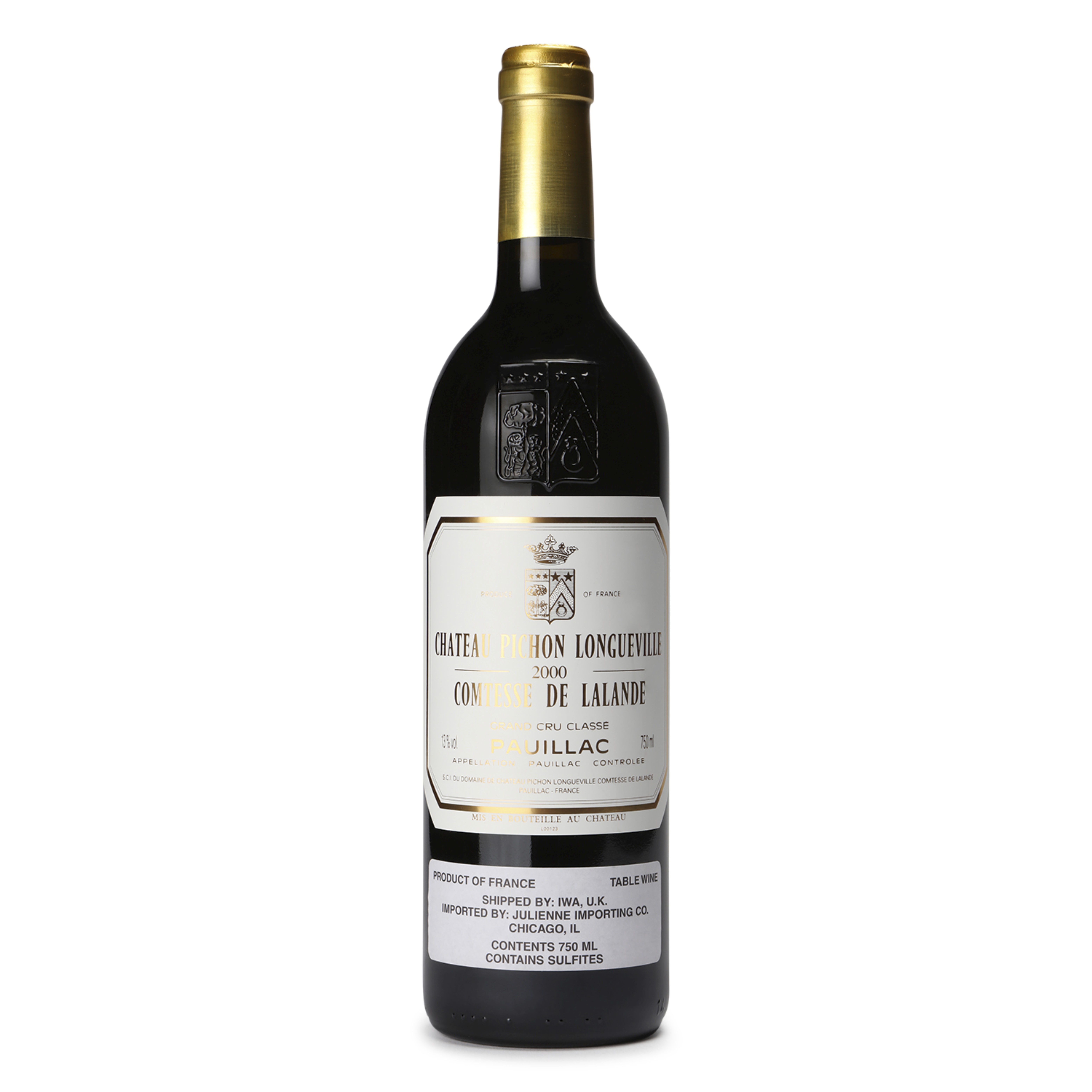 View full screen - View 1 of Lot 4. Chateau Pichon Lalande 2000, Pauillac - 1 Magnum (1.5L).