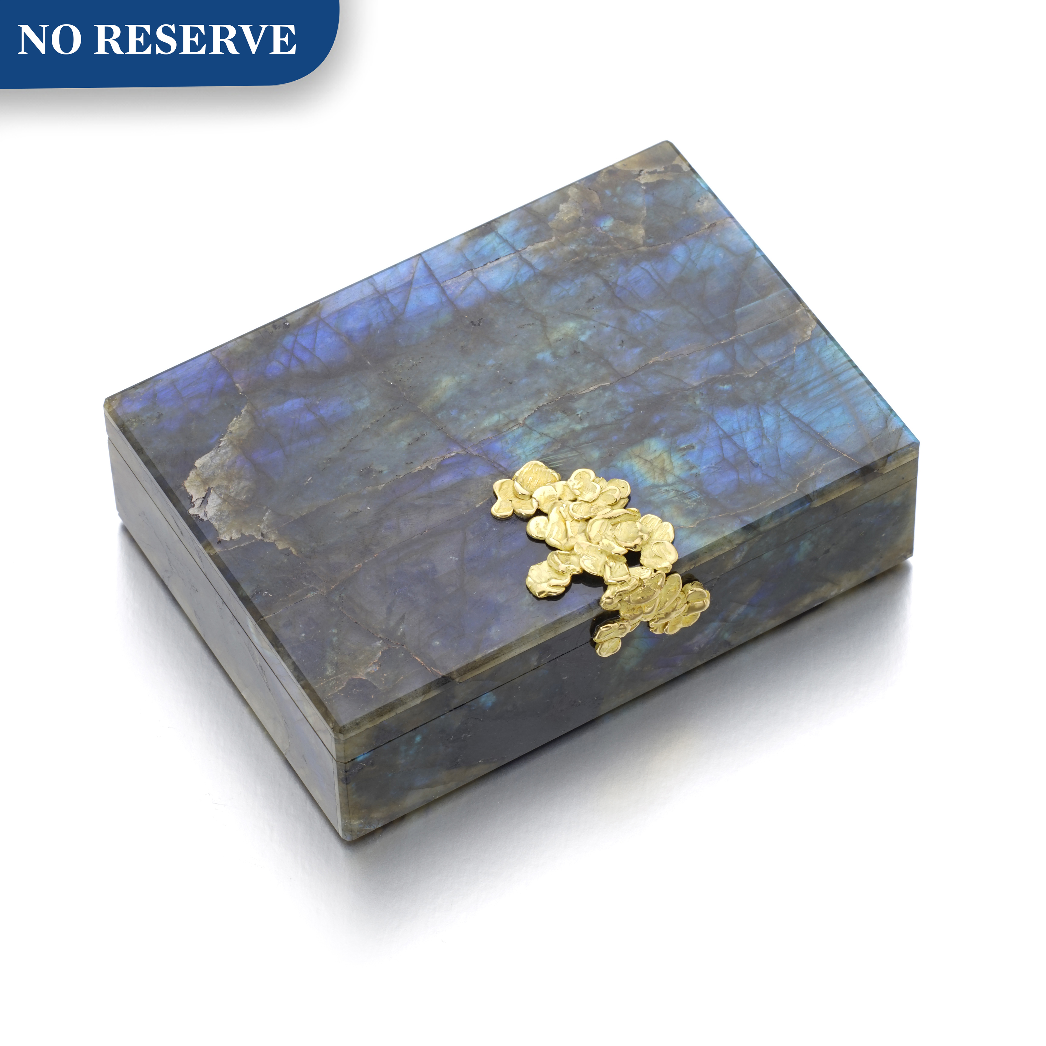 View full screen - View 1 of Lot 34. CHAUMET | LABRADORITE CASE.