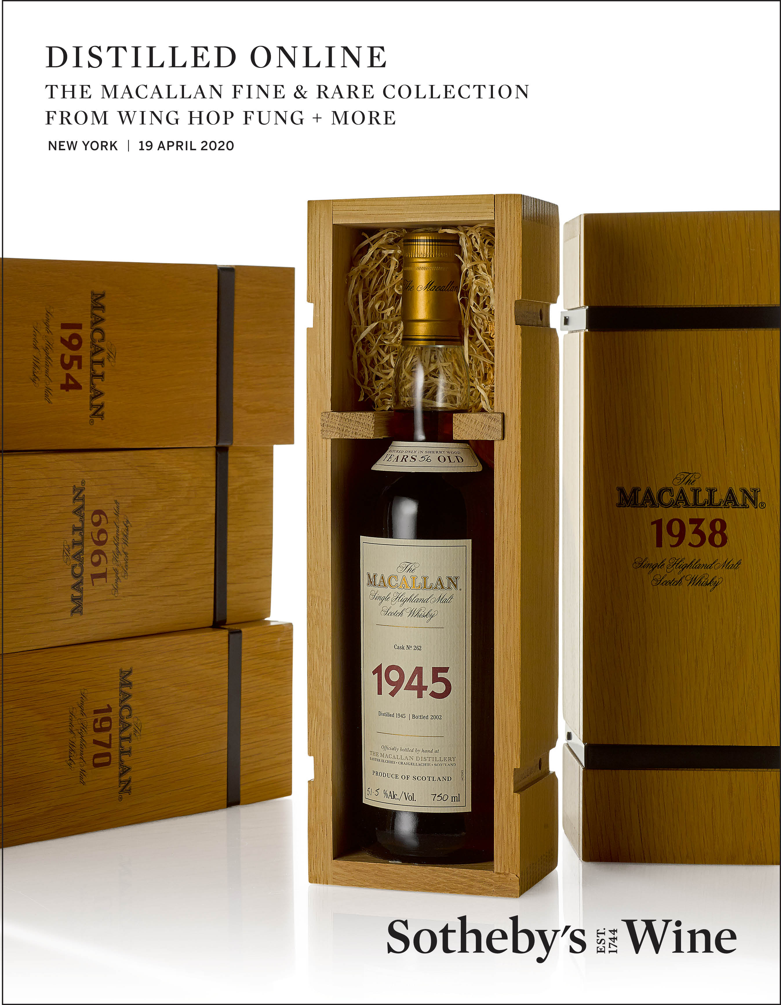 View 1 of Lot 46. Old Charter Oak Mongolian Oak Kentucky Straight Bourbon Whiskey, 90 Proof NV (1 BT75cl).