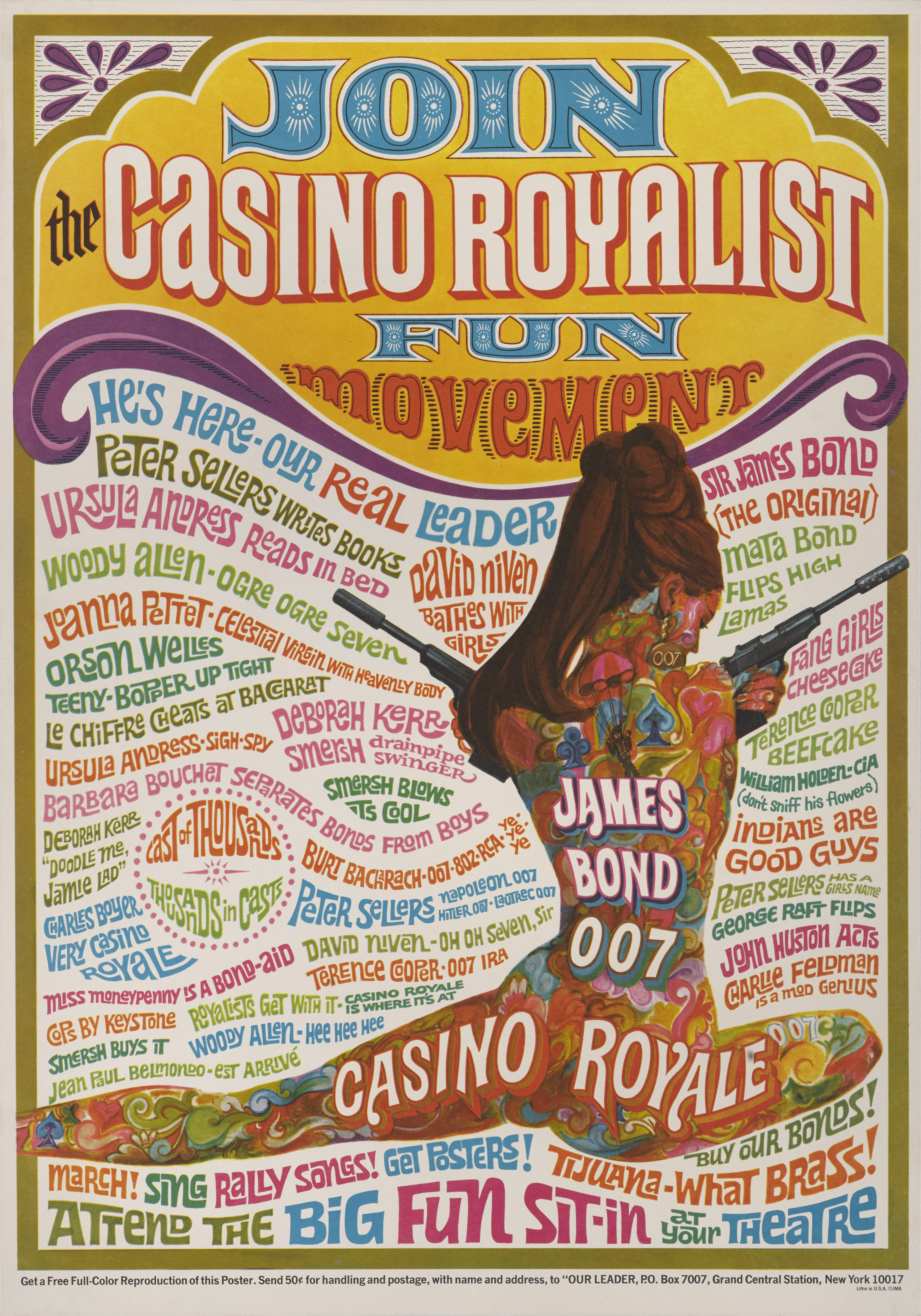 View 1 of Lot 79. CASINO ROYALE (1967) POSTER, US, SPECIAL.