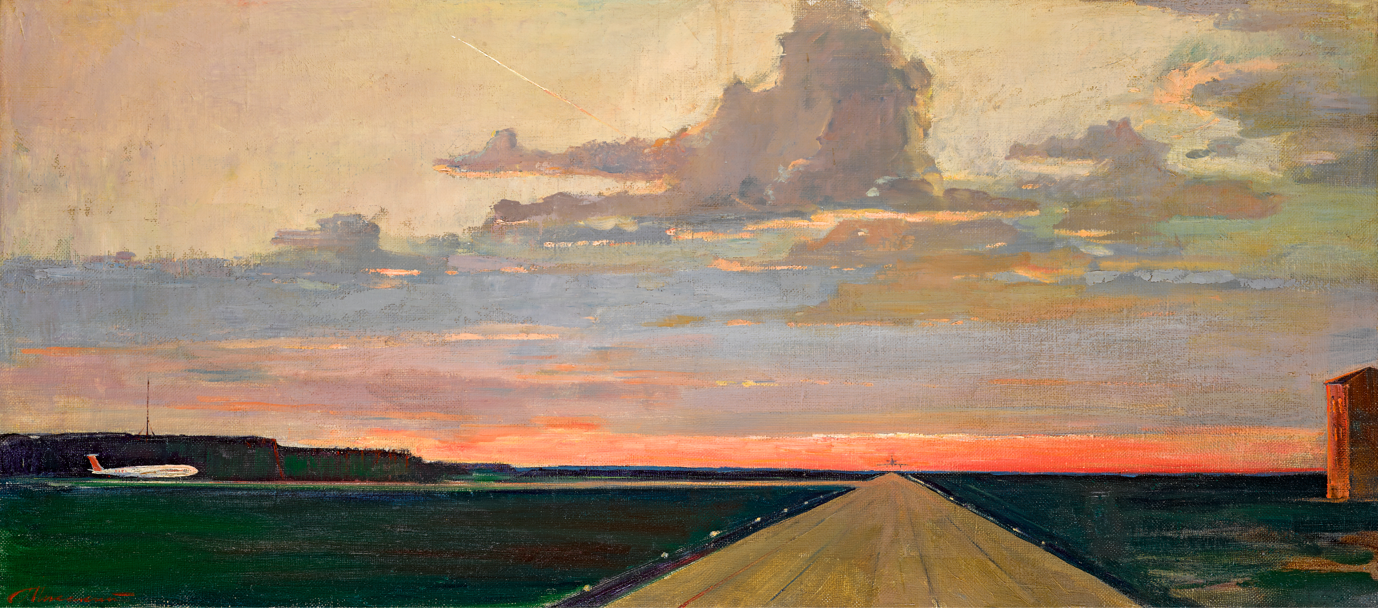 View full screen - View 1 of Lot 122. GEORGY GRIGORIEVICH NISSKY | Airfield .