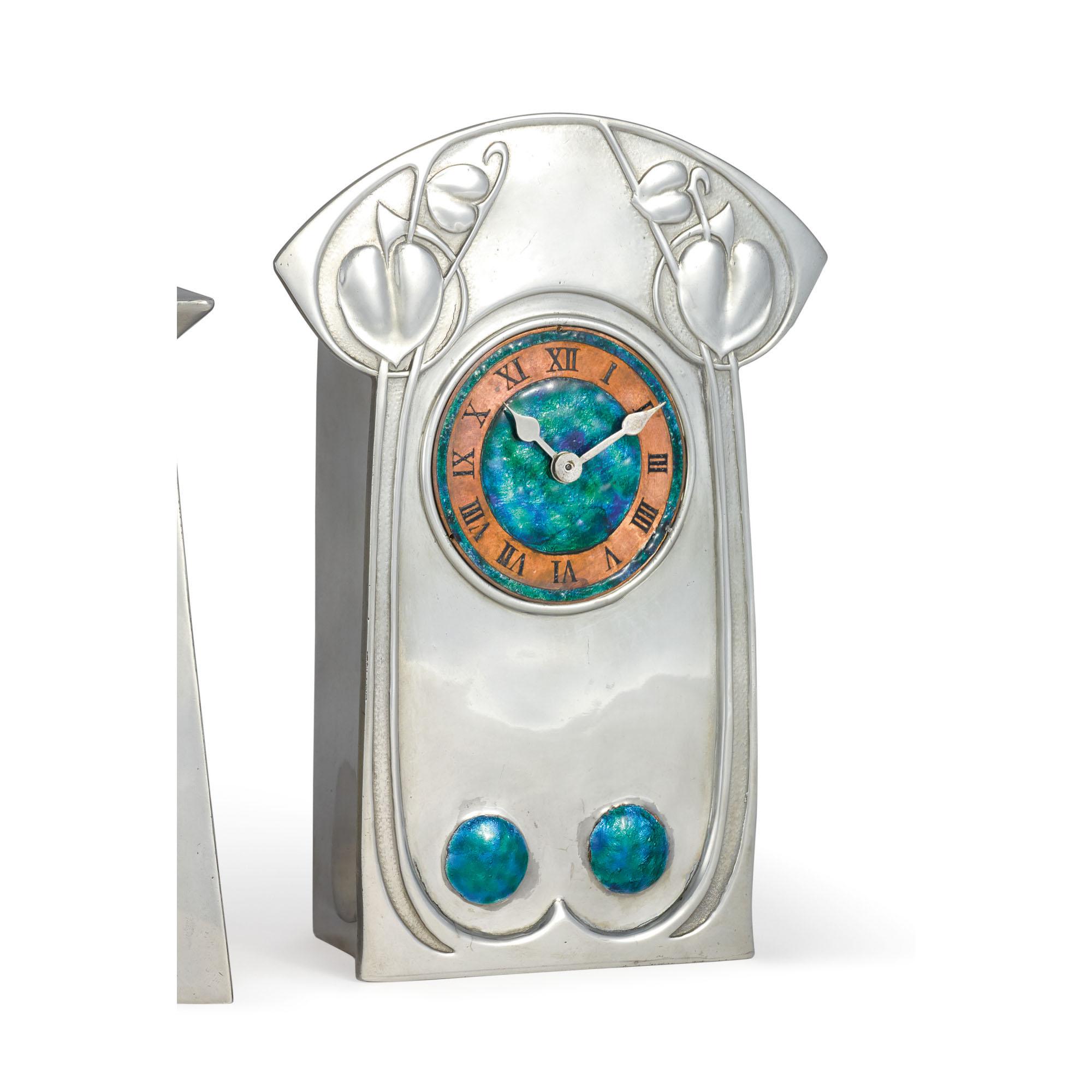 "ARCHIBALD KNOX | ""TUDRIC"" CLOCK, MODEL NO. 0370"