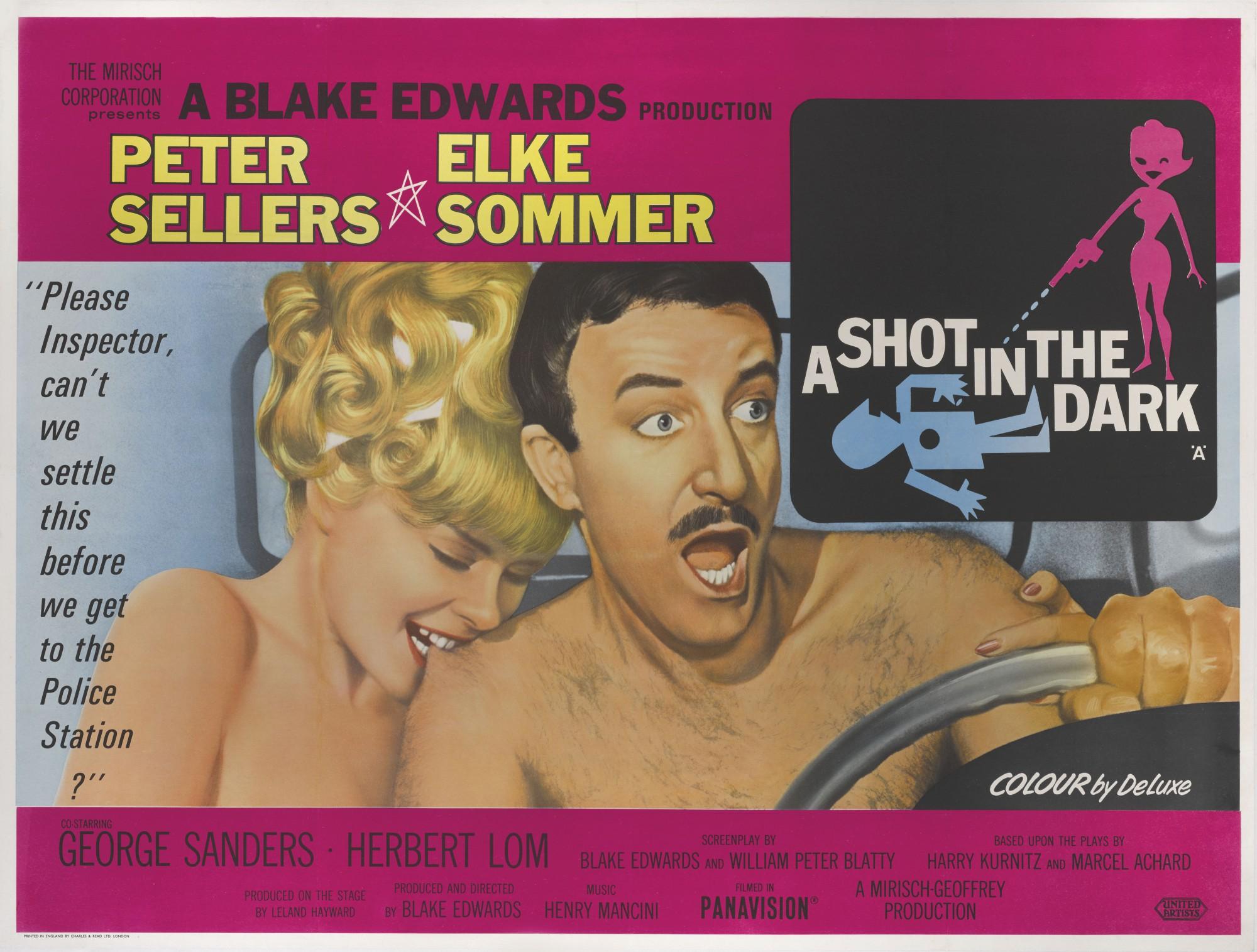 A SHOT IN THE DARK (1964) POSTER, BRITISH | Original Film Posters ...