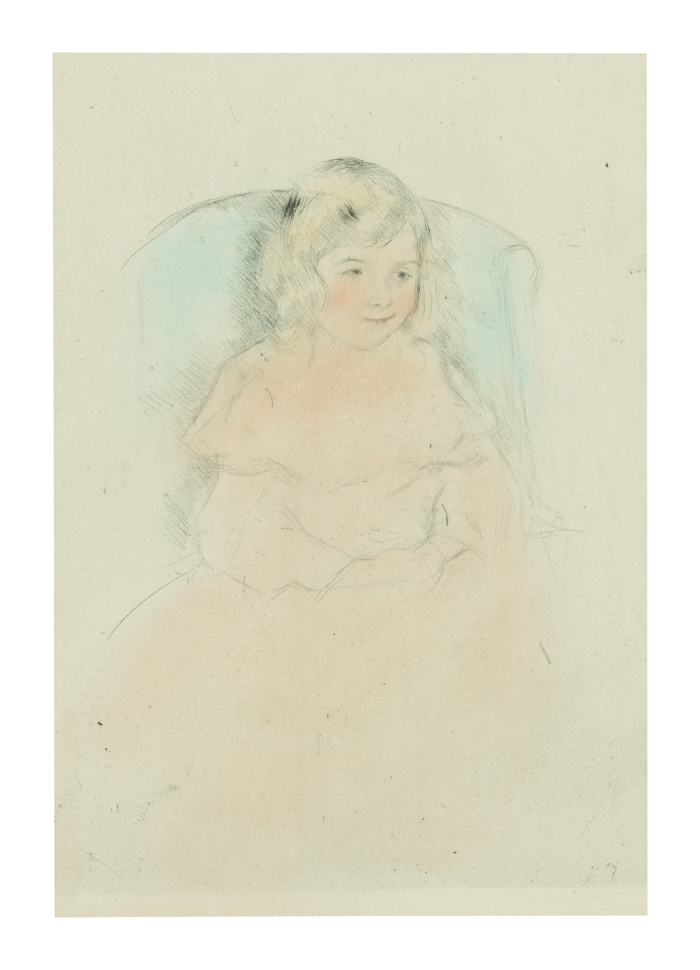 MARY CASSATT | SARA SMILING (BREESKIN 195)