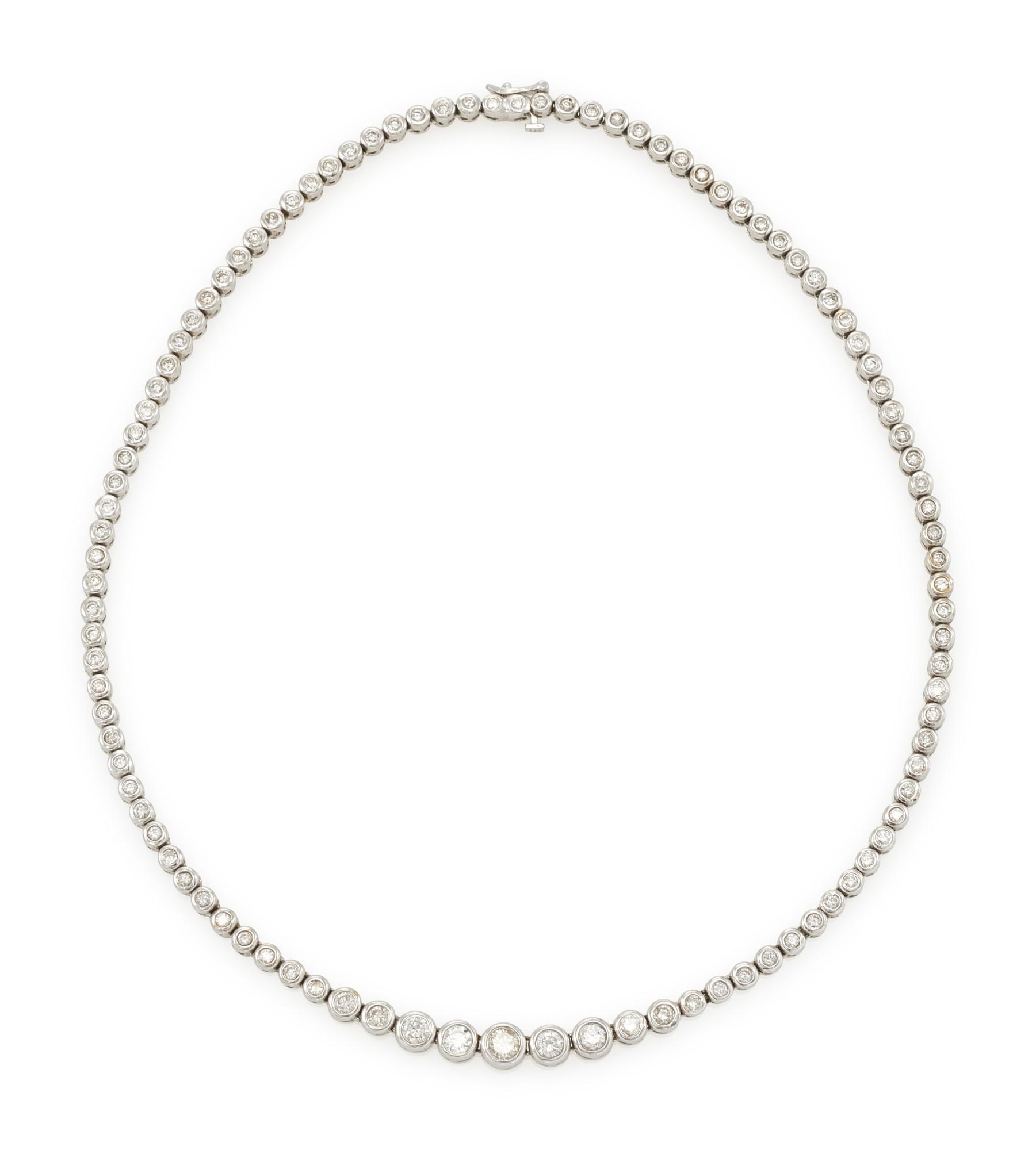 DIAMOND NECKLACE (COLLANA IN DIAMANTI)