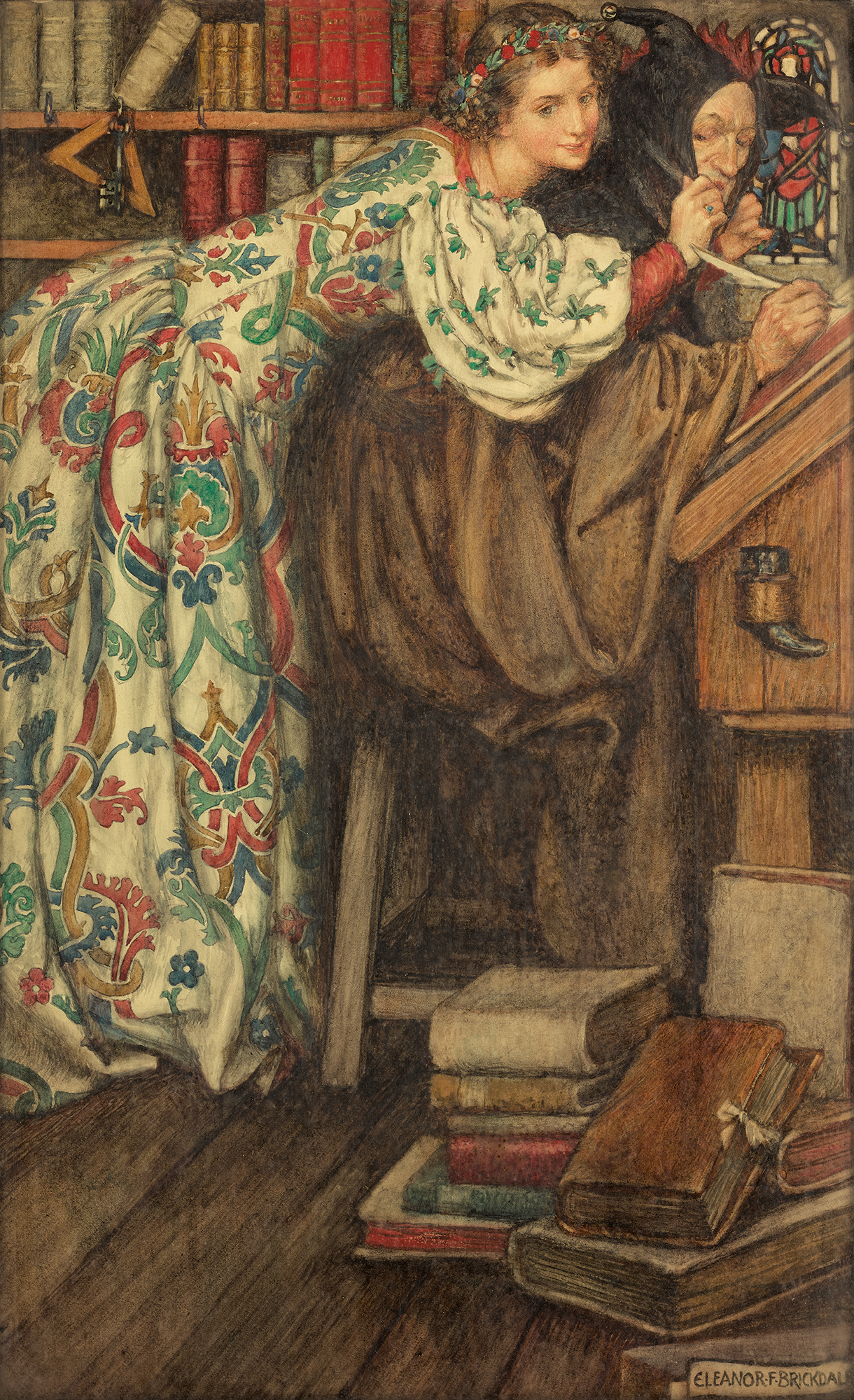 ELEANOR FORTESCUE-BRICKDALE, R.W.S. | The Cap that Fits