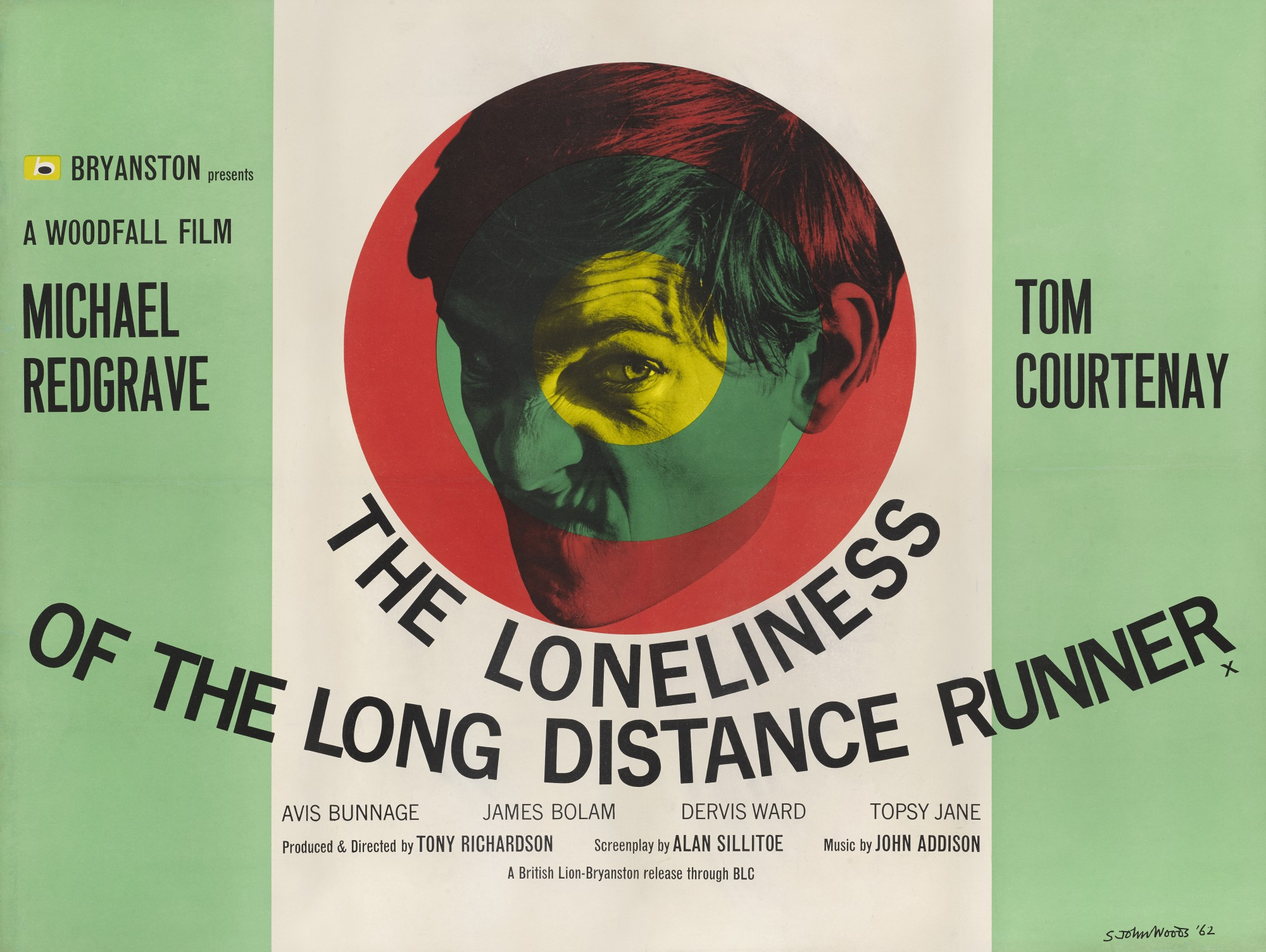 THE LONELINESS OF THE LONG DISTANCE RUNNER (1962) POSTER, BRITISH