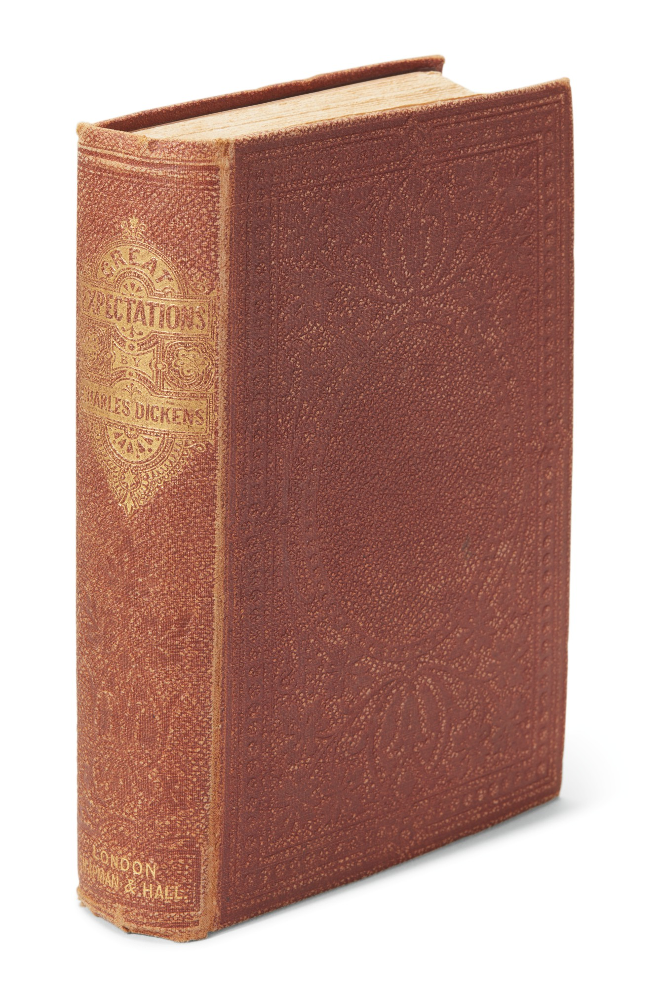Dickens, Great Expectations, 1862, second edition, first one volume edition