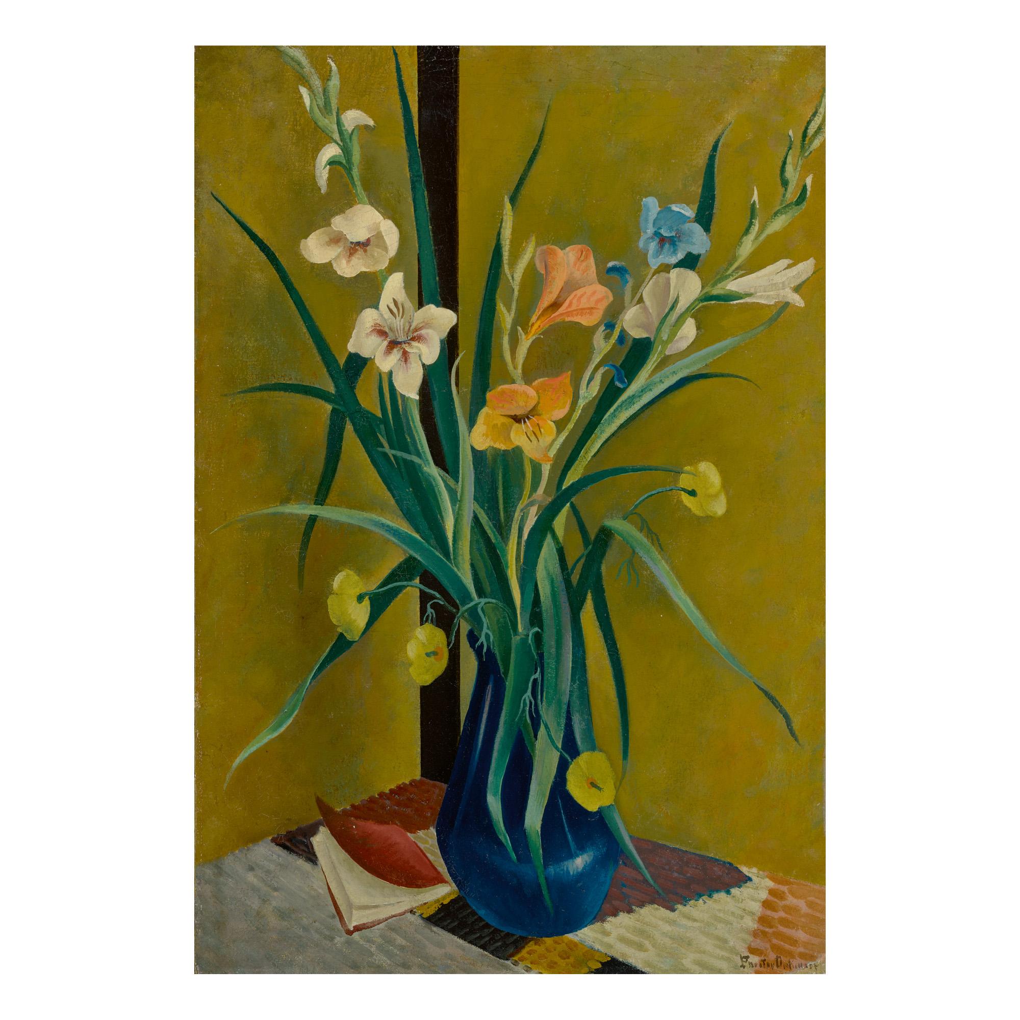 PRESTON DICKINSON | FLOWERS IN VASE