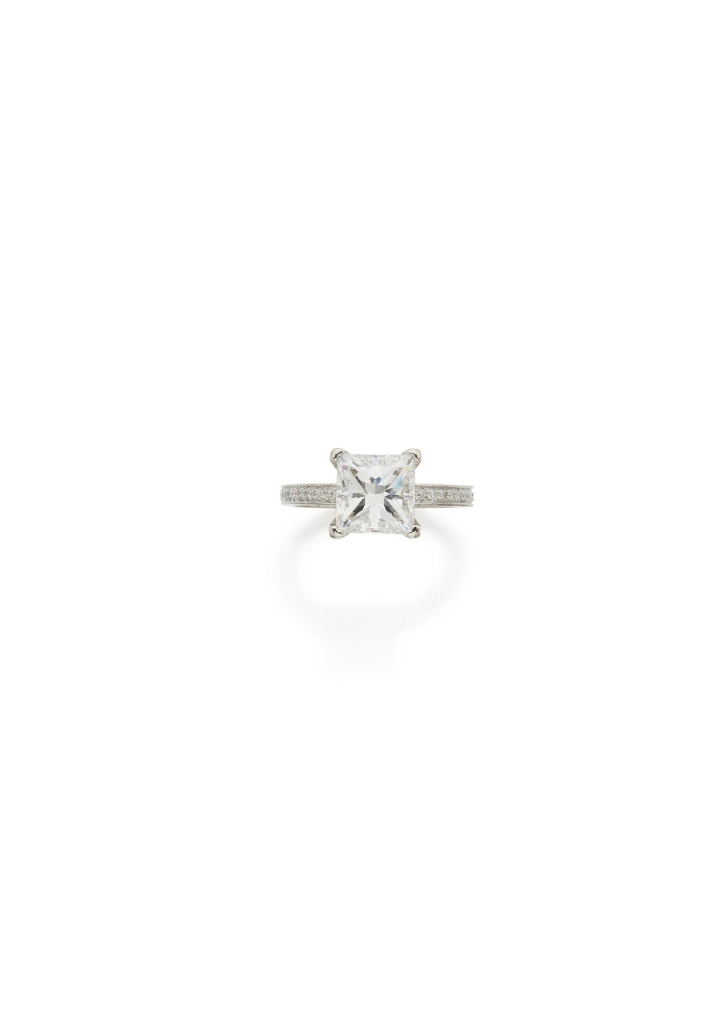 DIAMOND RING, TIFFANY & CO.