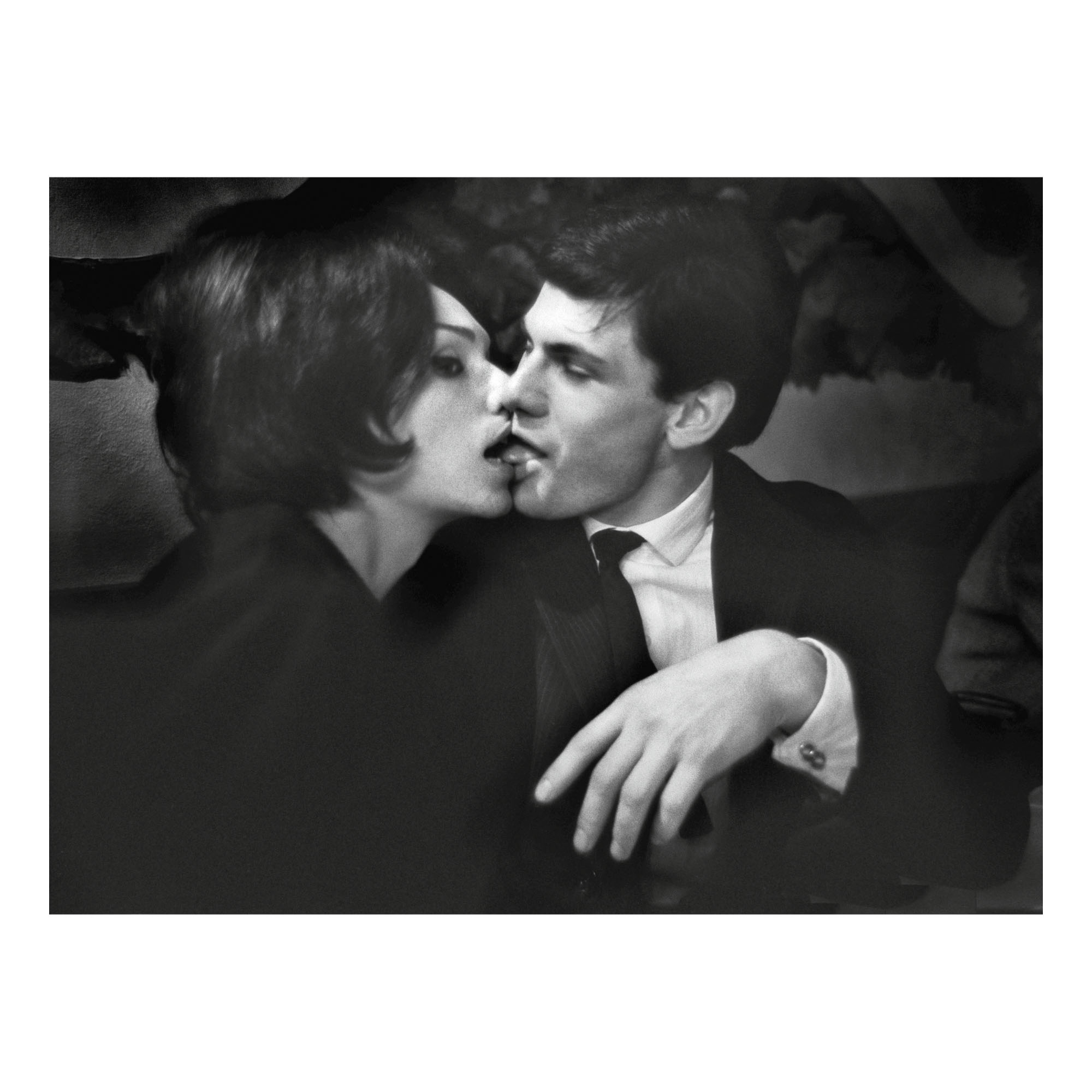 CHRISTER STRÖMHOLM | NANA KISSING A MAN, PLACE BLANCHE, PARIS