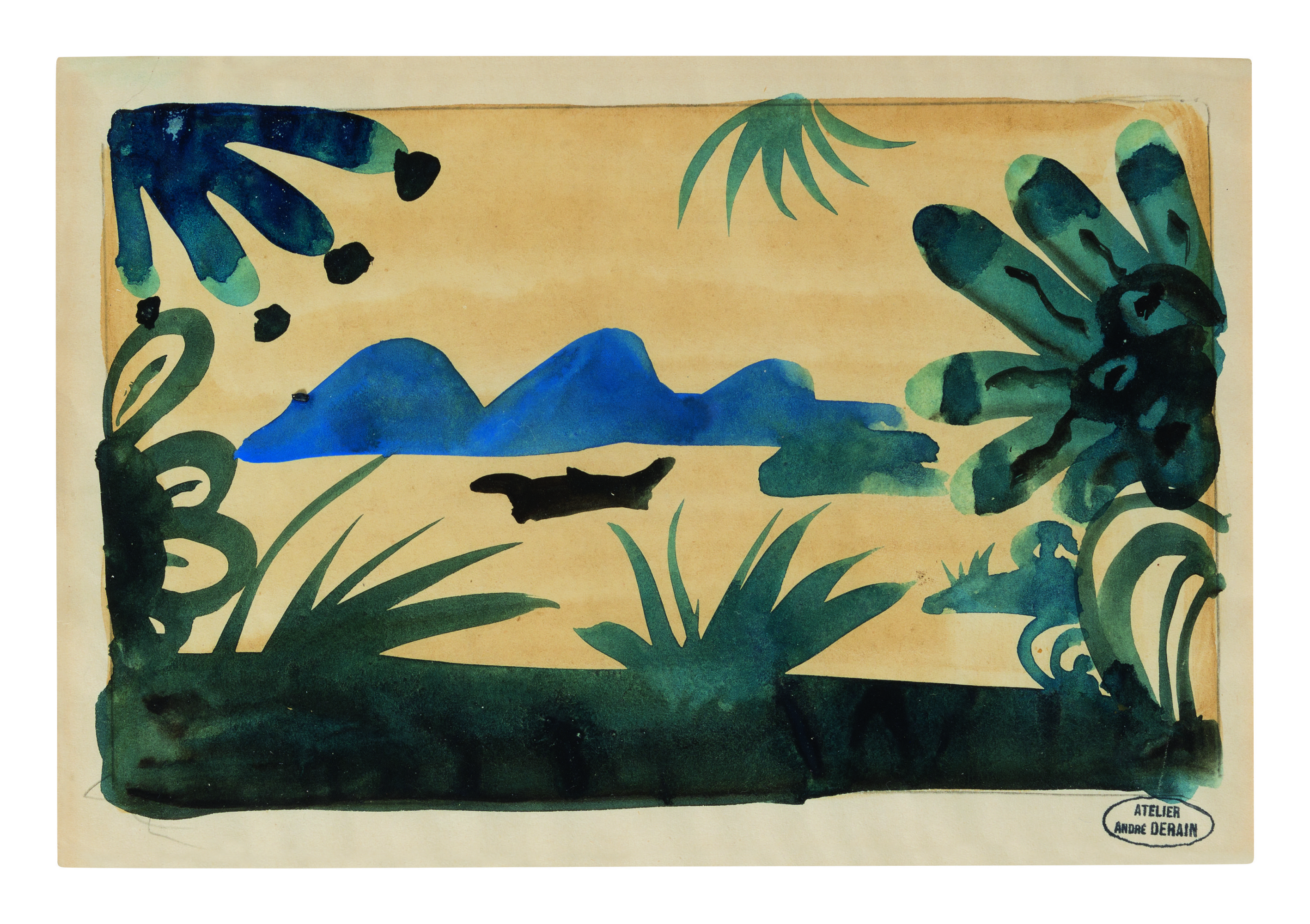 View full screen - View 1 of Lot 13. ANDRÉ DERAIN | PAYSAGE.