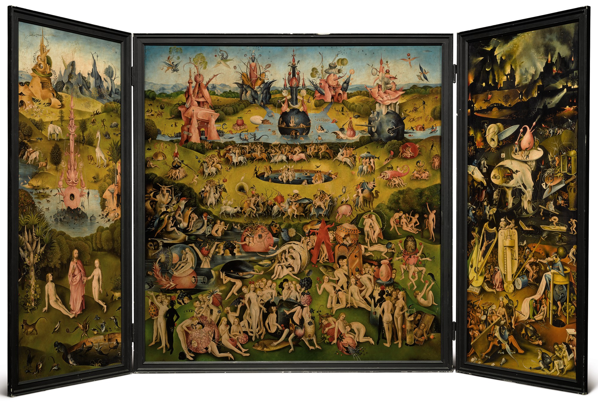 After Hieronymous Bosch 19th Or 20th Century The Garden Of Earthly Delights Master Paintings Sculpture Day Sale Sotheby S