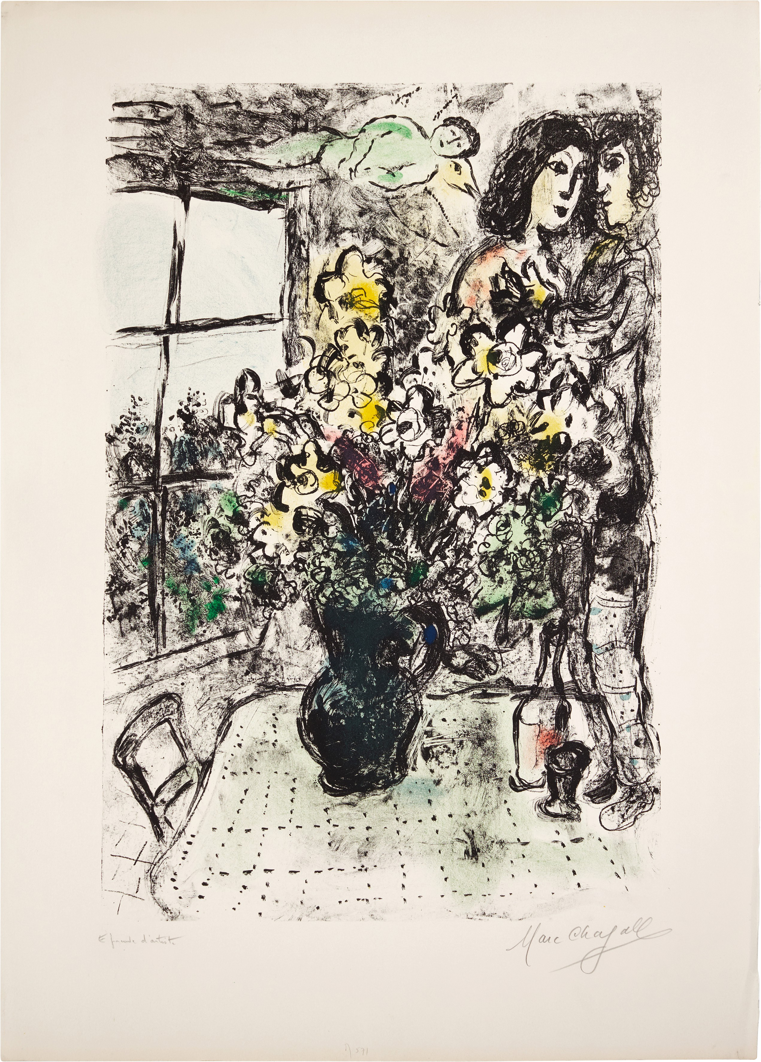 View full screen - View 1 of Lot 60.  MARC CHAGALL   INTIMITÉ (M. 571).