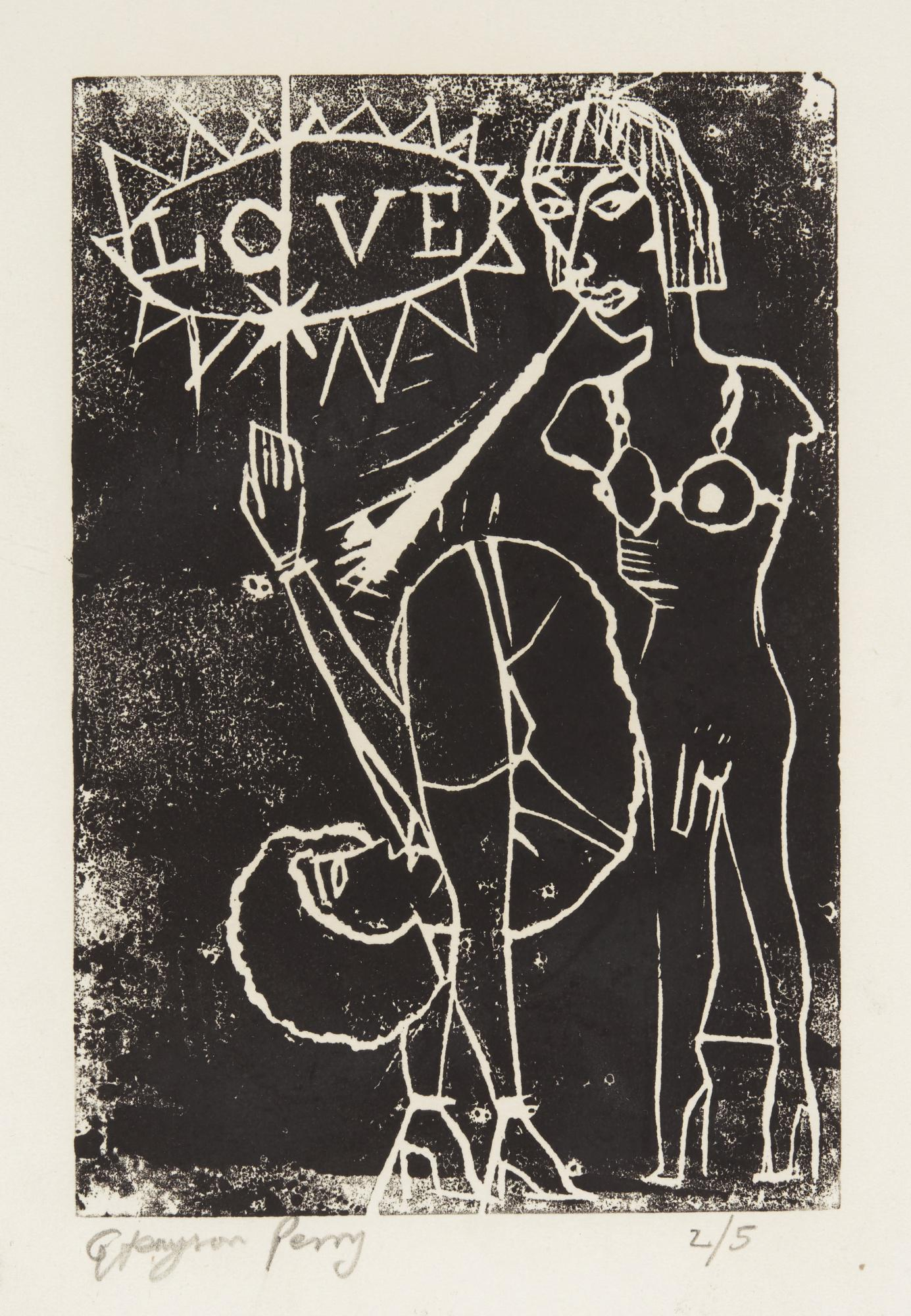 GRAYSON PERRY, R.A. | UNTITLED (LOVE)