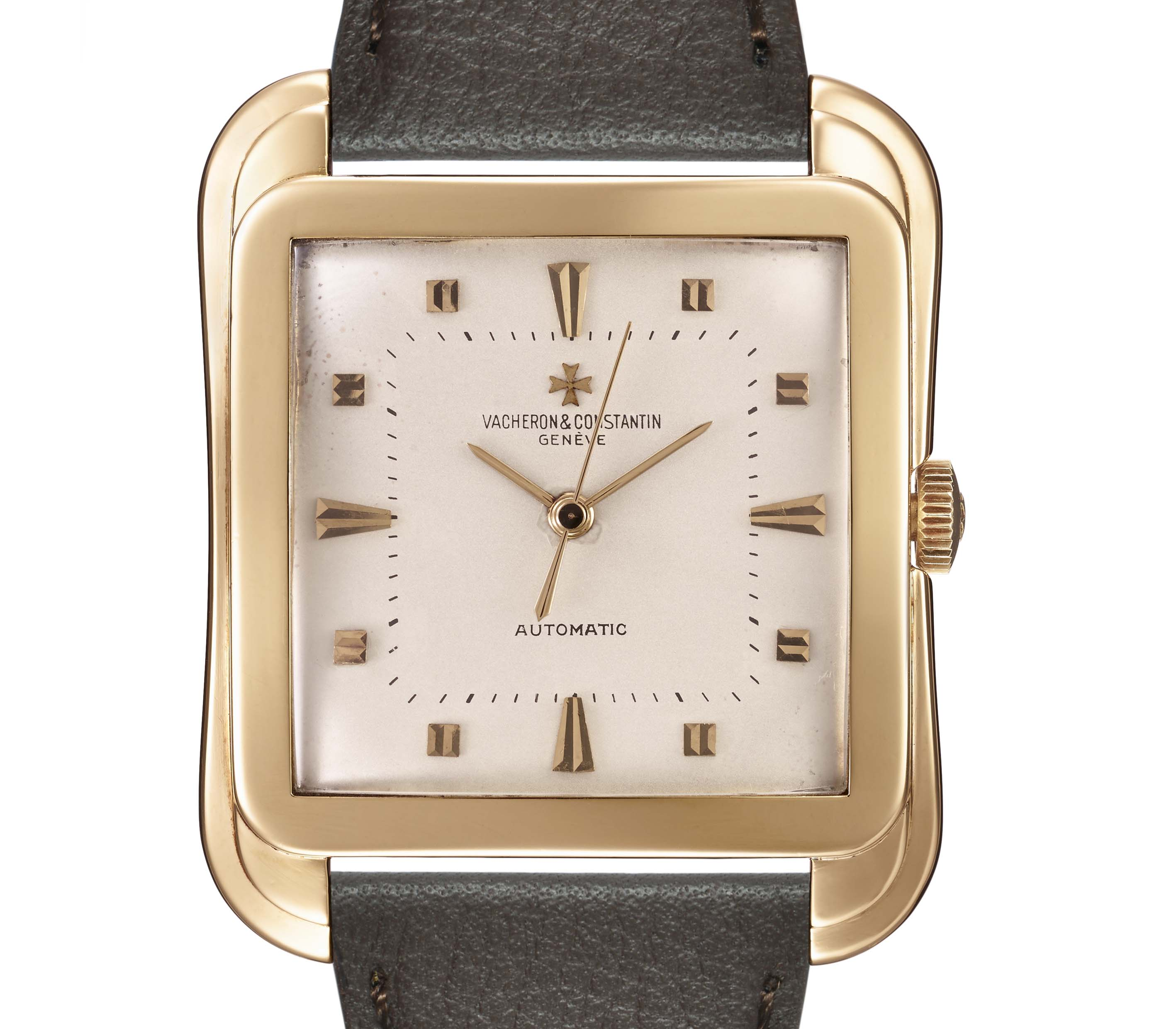 View 1 of Lot 5. VACHERON CONSTANTIN | 18K YELLOW GOLD AUTOMATIC GENTLEMAN'S WRISTWATCH, REF 6440.