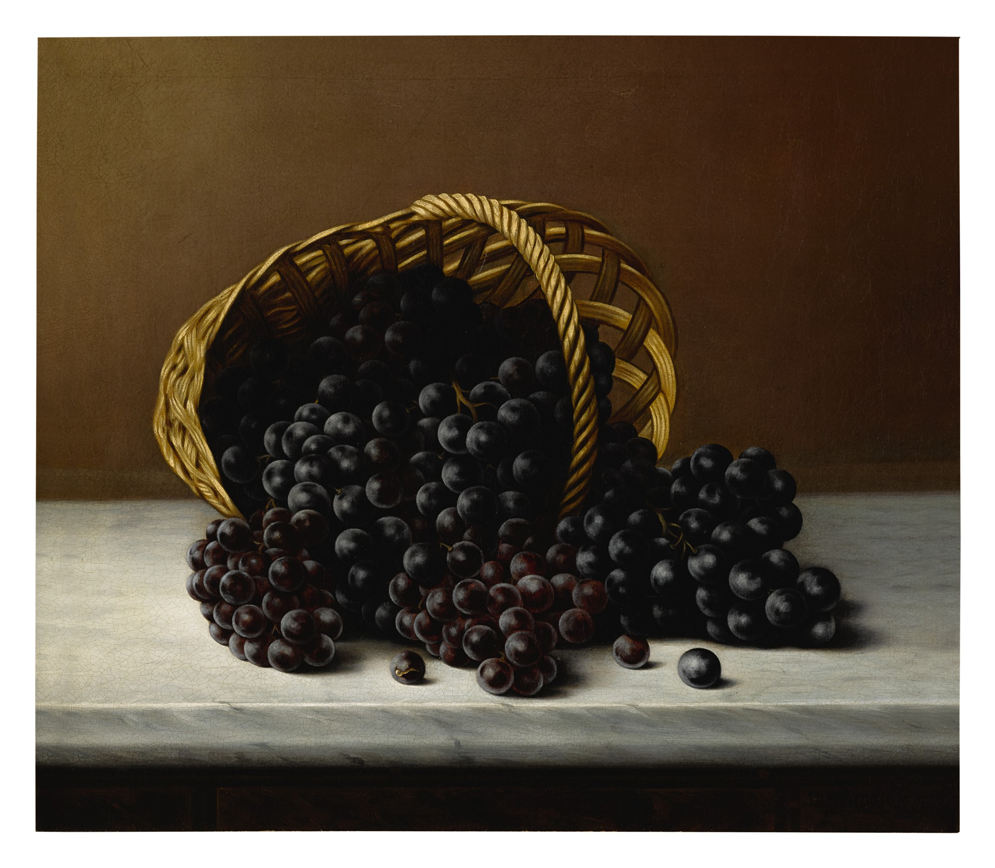 J. A. HENDRICK | STILL LIFE WITH GRAPES