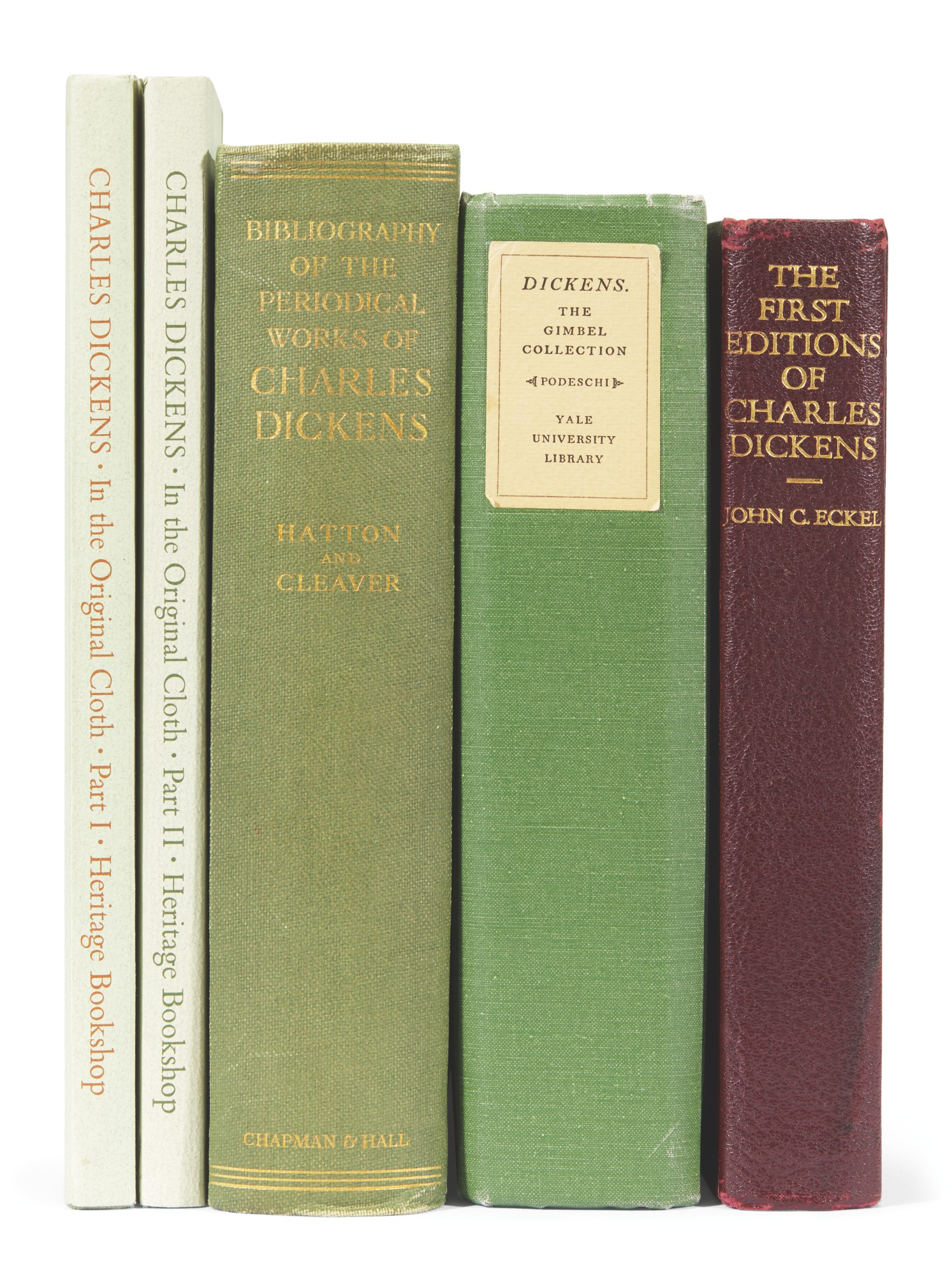 Eckel--Hatton--Cleaver--Podeschi--Smith, Four bibliographical works in five volumes, 1932-83