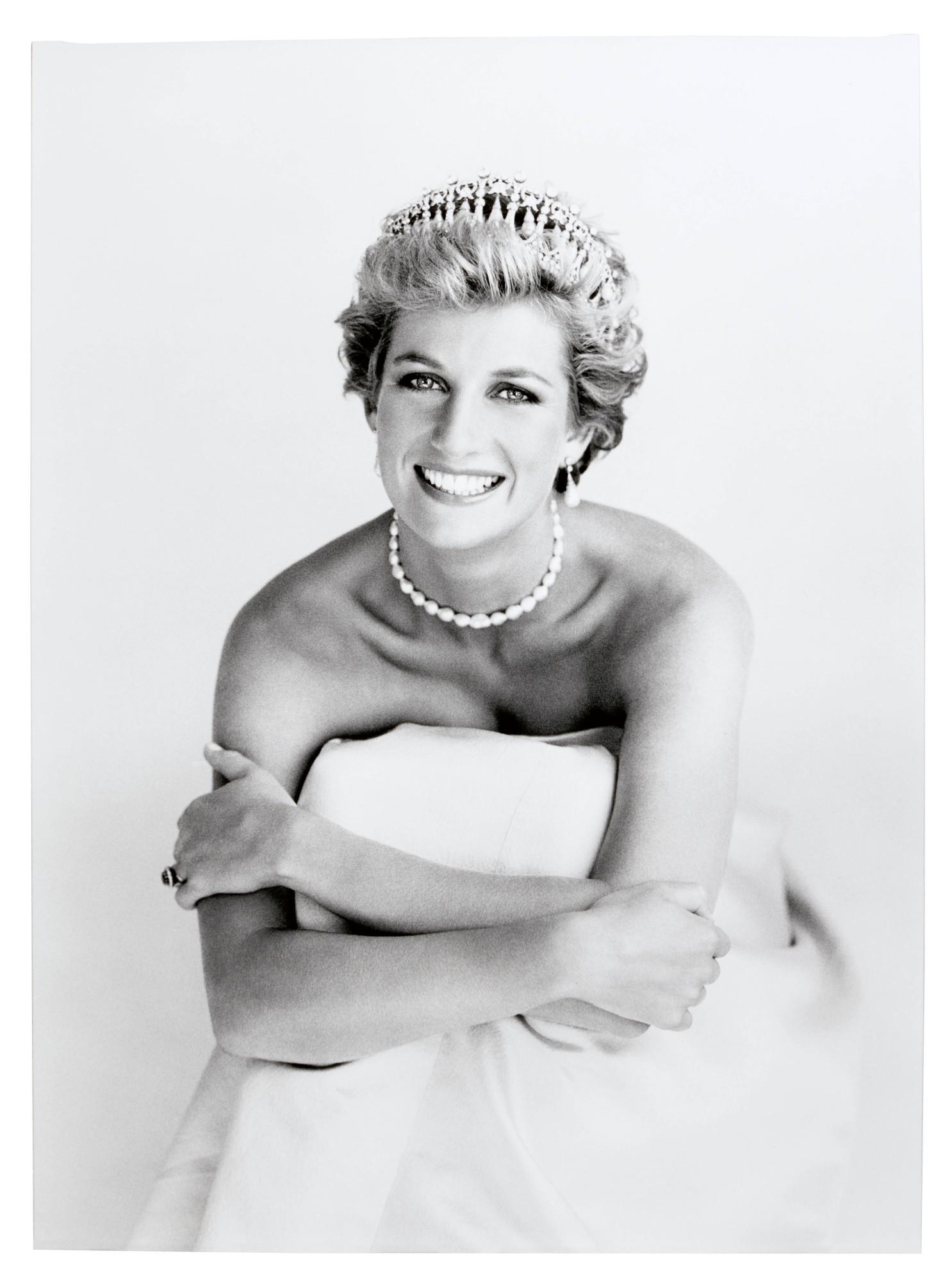 Patrick Demarchelier, Princess Diana, London, 1990.