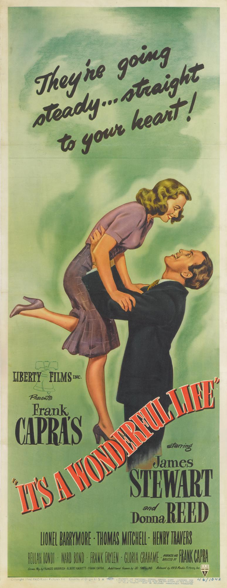 IT'S A WONDERFUL LIFE (1946) POSTER, US