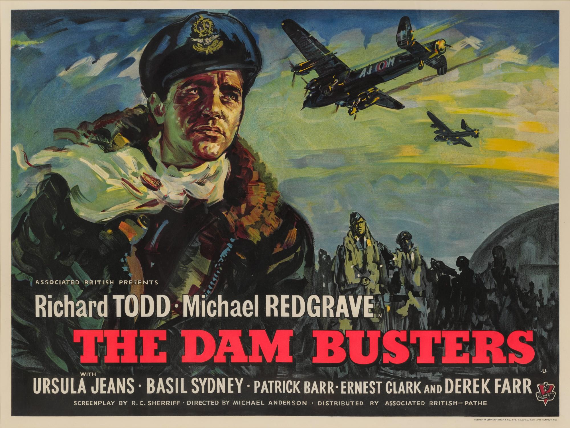 THE DAM BUSTERS (1954) POSTER, BRITISH | Original Film Posters ...