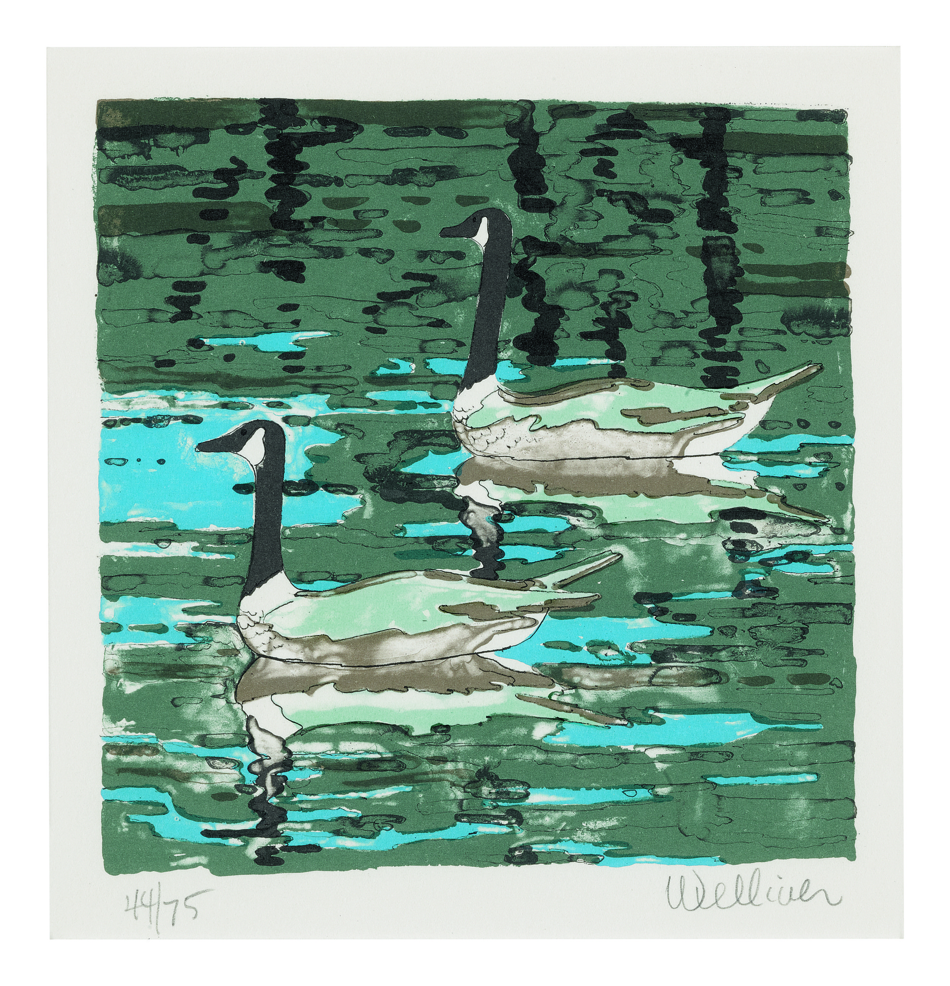 NEIL WELLIVER | CANADA GEESE