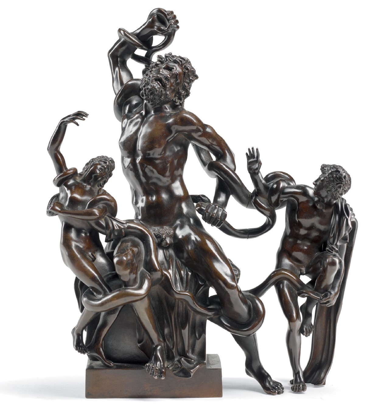 ITALIAN OR FRENCH, LATE 18TH/ EARLY 19TH CENTURY, AFTER THE ANTIQUE | LAOCOON AND HIS SONS