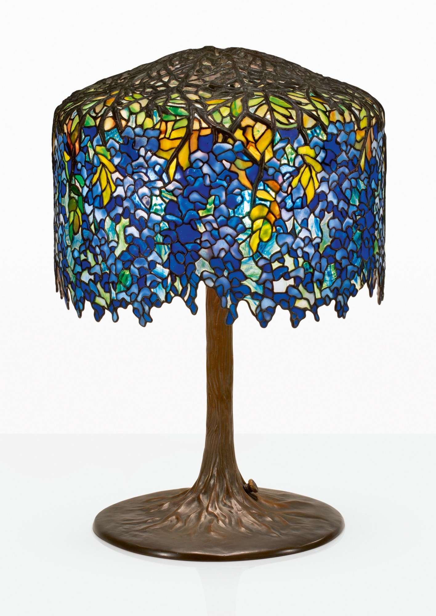 Tiffany Studios Wisteria Table Lamp Important Design Sotheby S