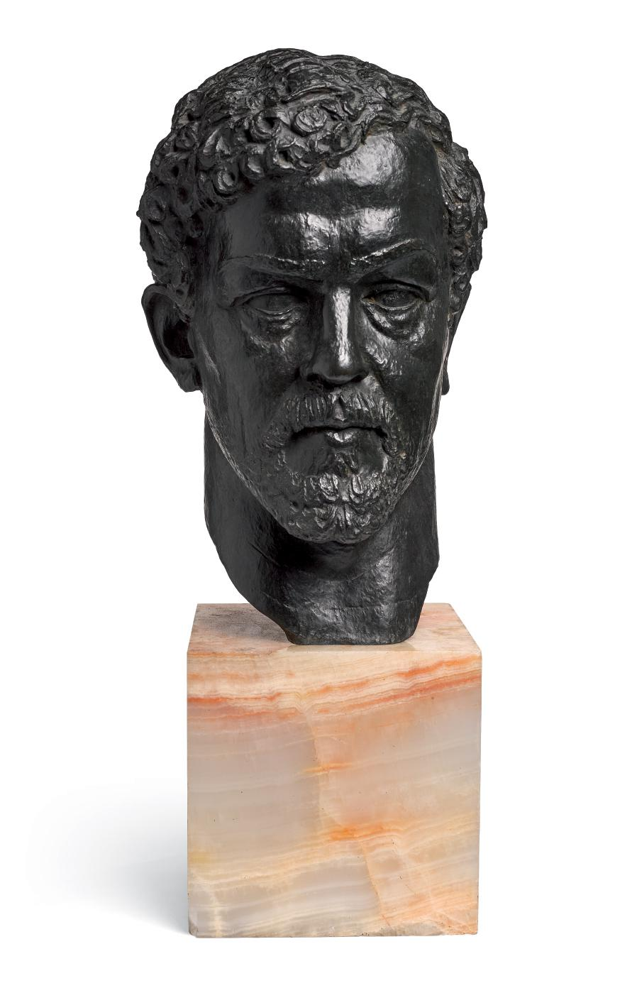 MARTHE SPITZER   BUST OF CLAUDE DEBUSSY