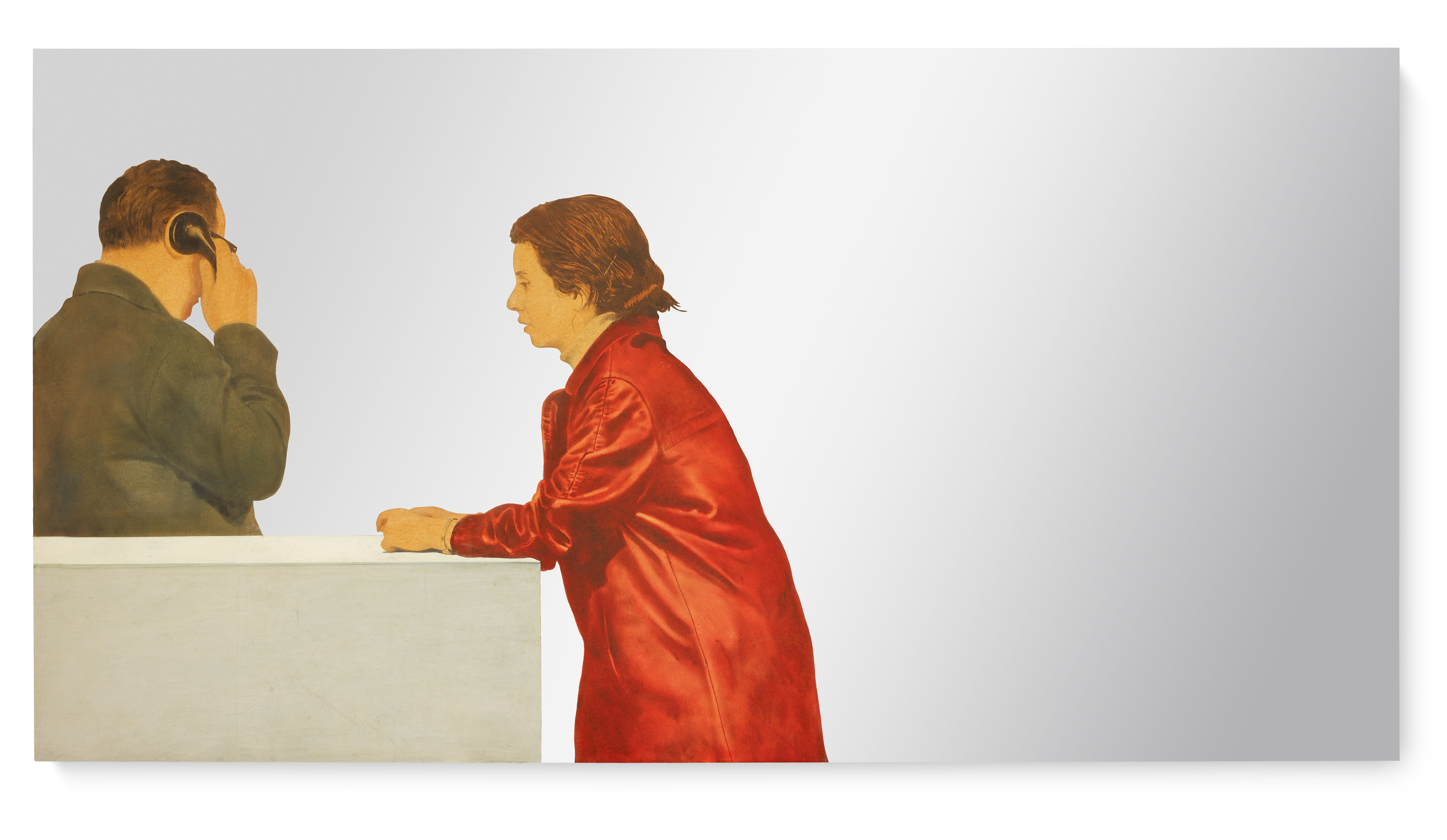 View full screen - View 1 of Lot 118. MICHELANGELO PISTOLETTO |  L'ANNUNCIAZIONE (THE ANNUNCIATION) .