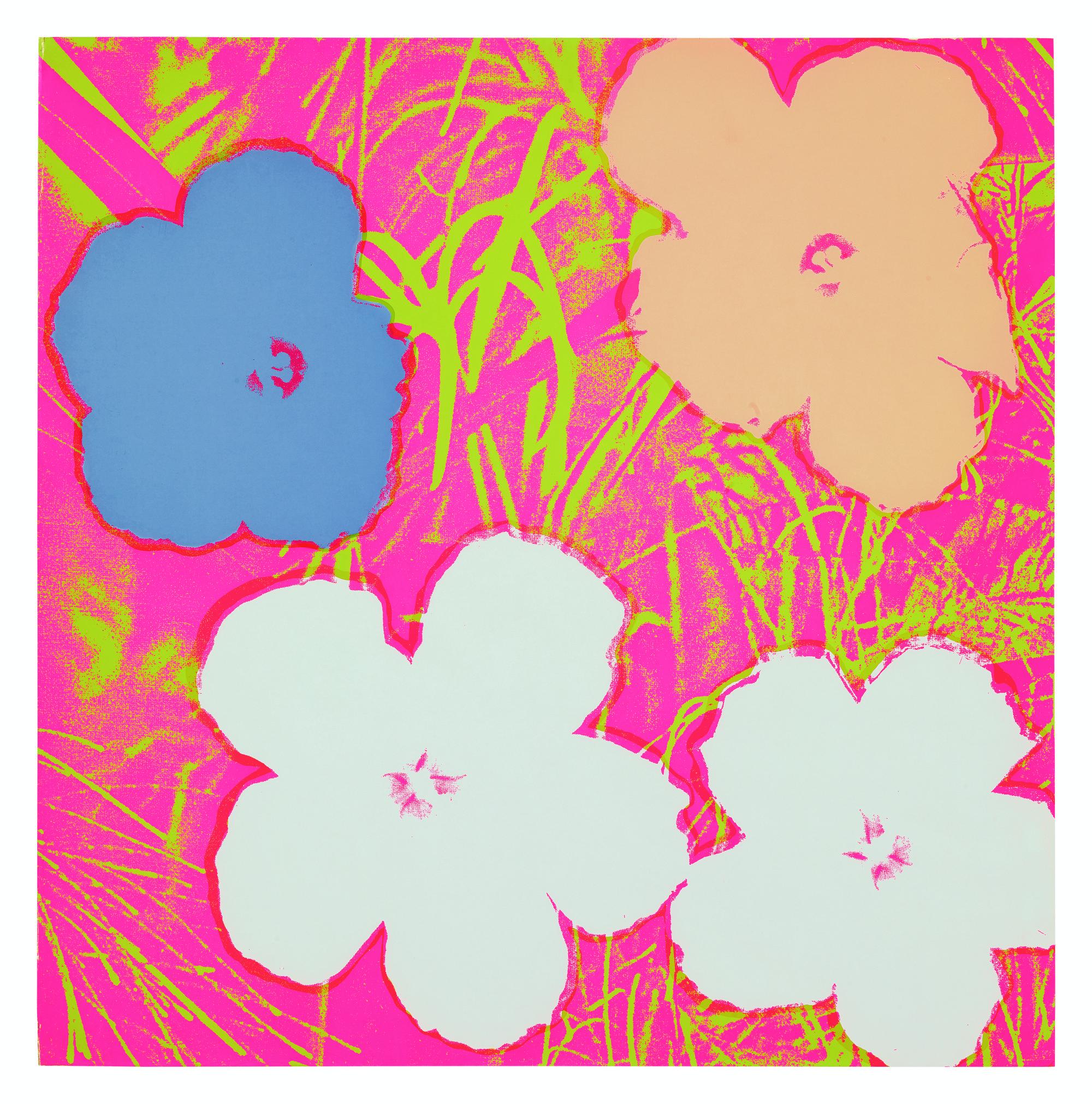 ANDY WARHOL   FLOWERS (FELDMAN & SCHELLMANN II.69)