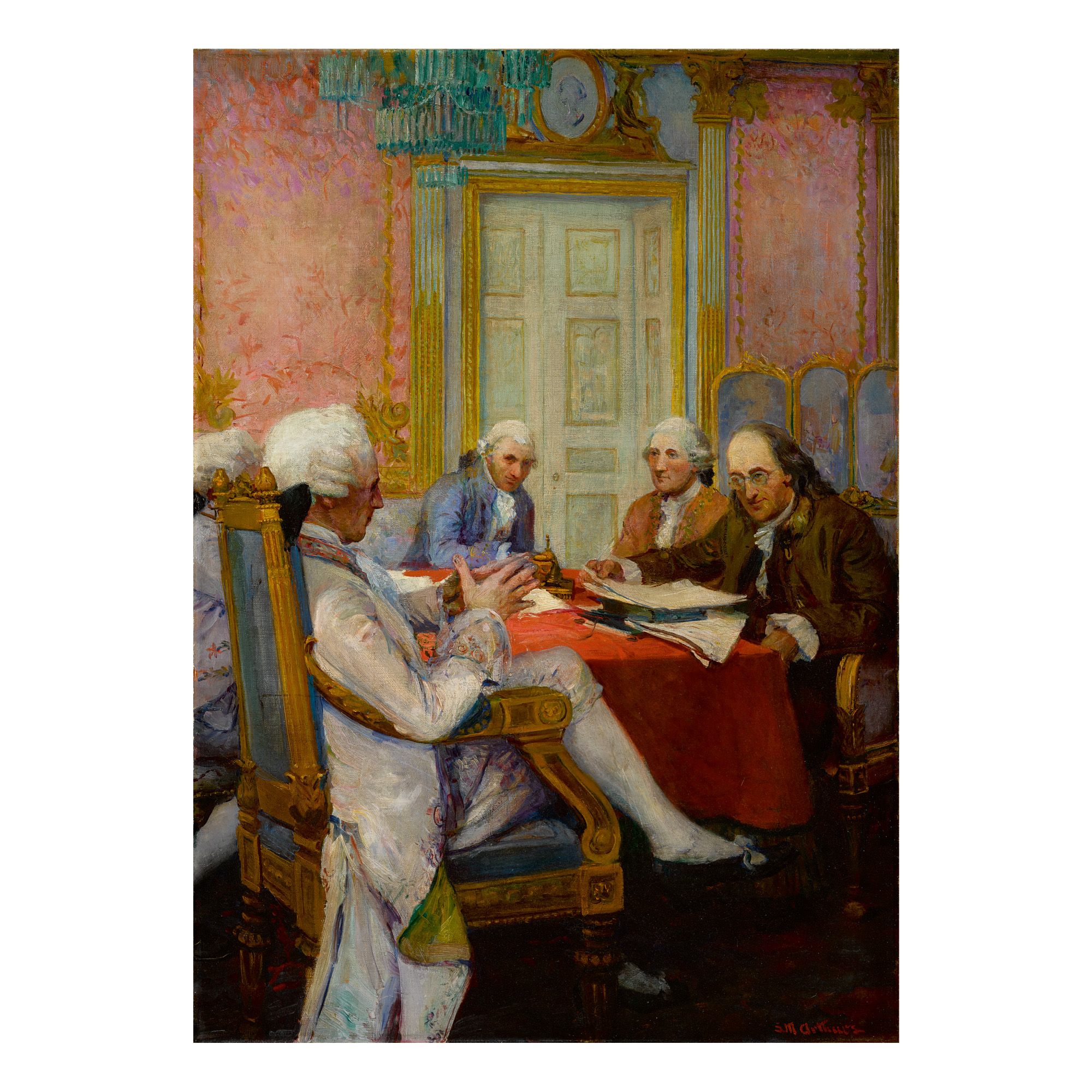 STANLEY MASSEY ARTHURS | FRANKLIN AT THE FRENCH COURT