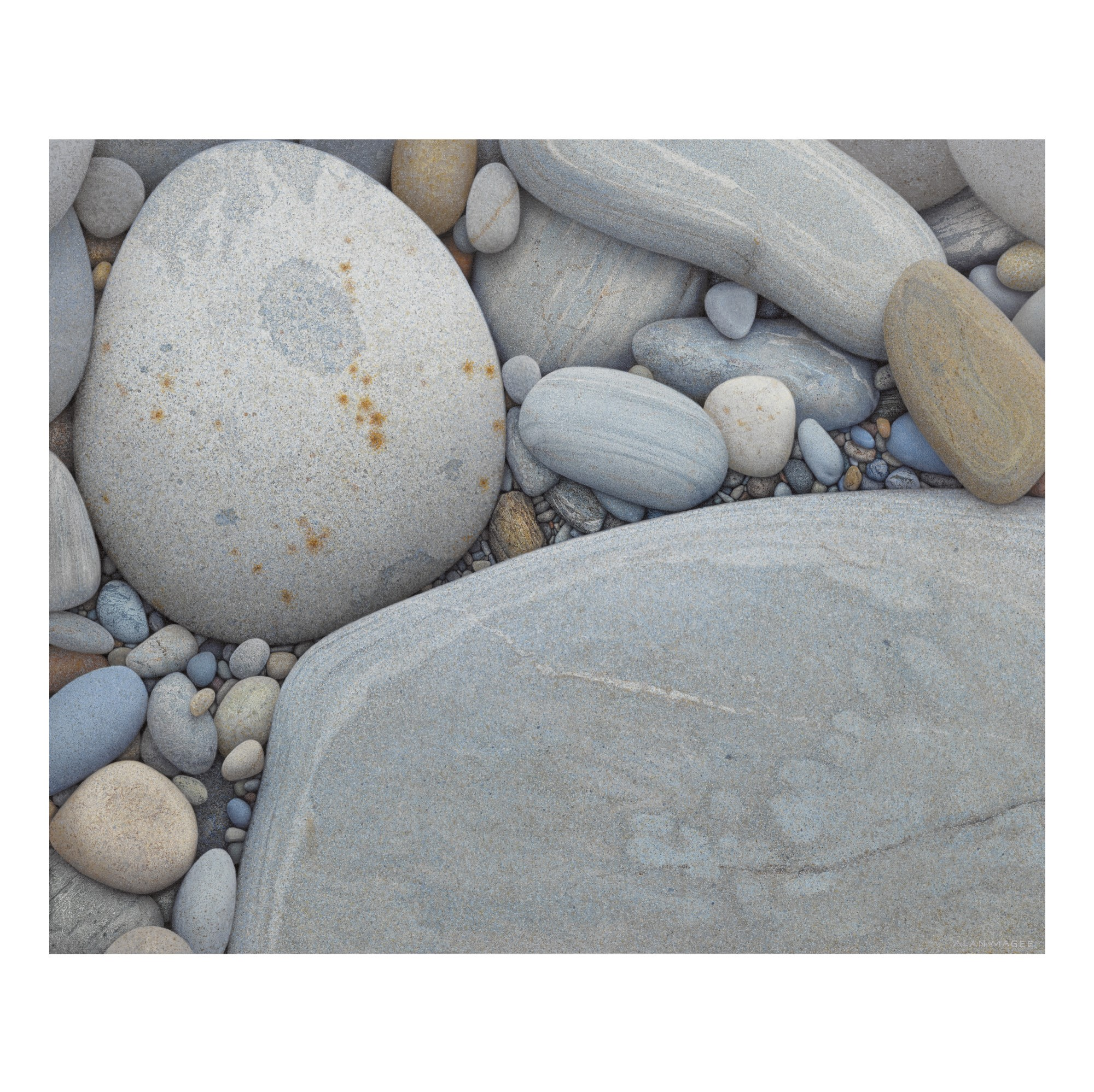 ALAN ARTHUR MAGEE | BEACH STONES