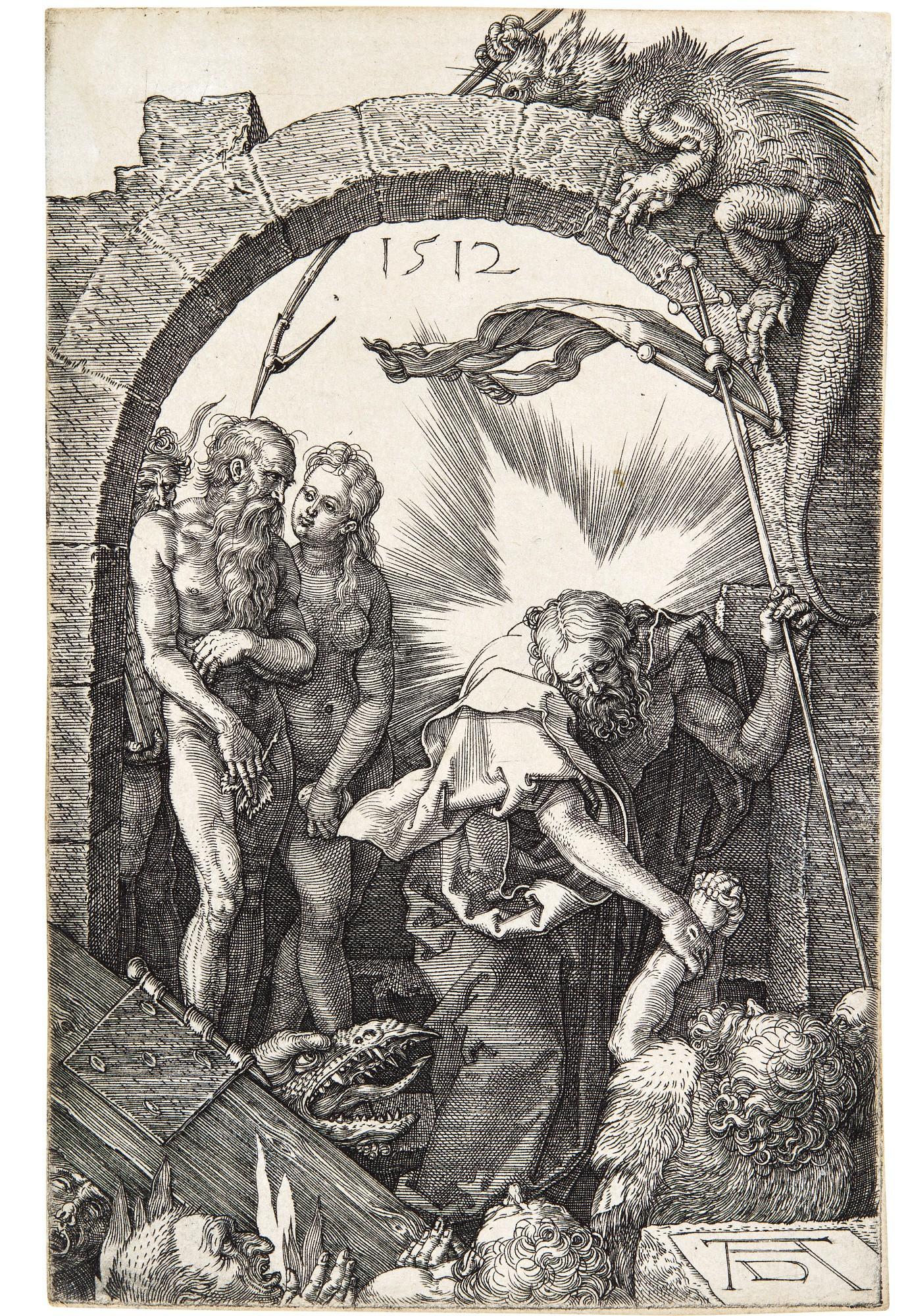 ALBRECHT DÜRER | THE HARROWING OF HELL (B., M., HOLL. 16)