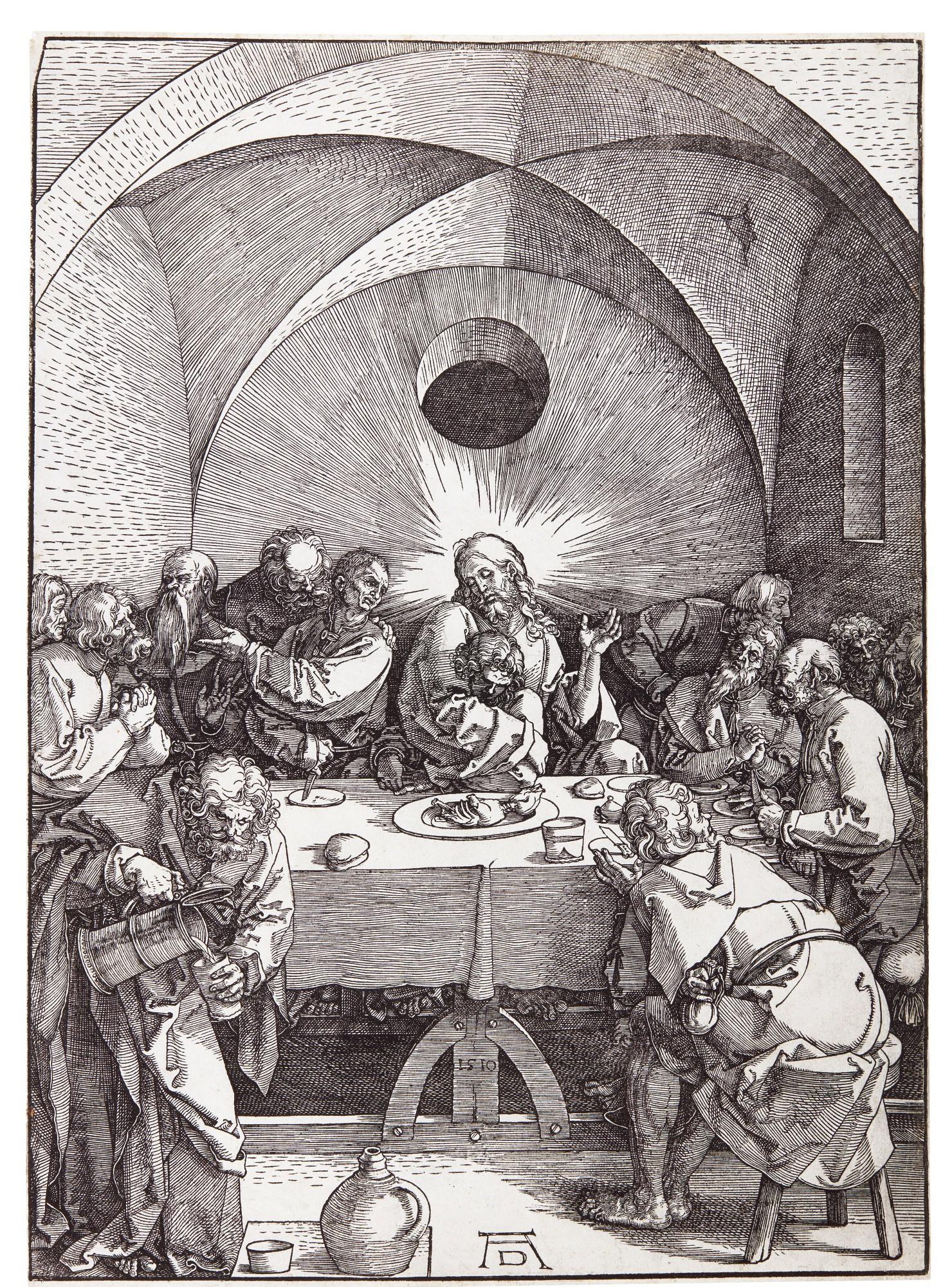 ALBRECHT DÜRER | THE LAST SUPPER (B. 5; M., HOLL. 114)