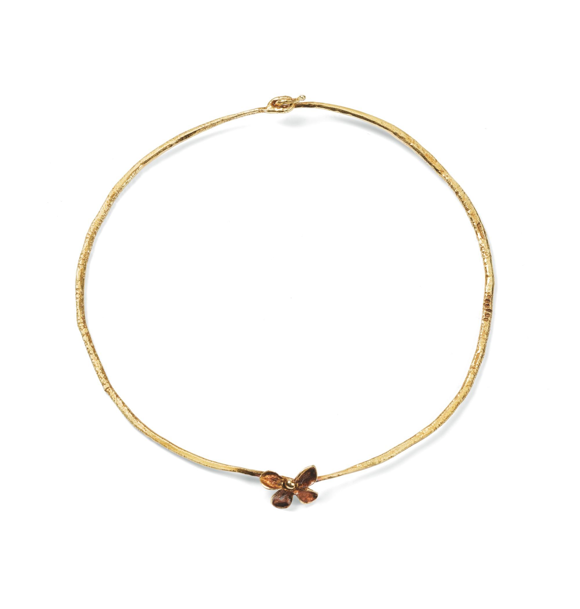Claude Lalanne, Necklace [ Collier], 'Lilas'