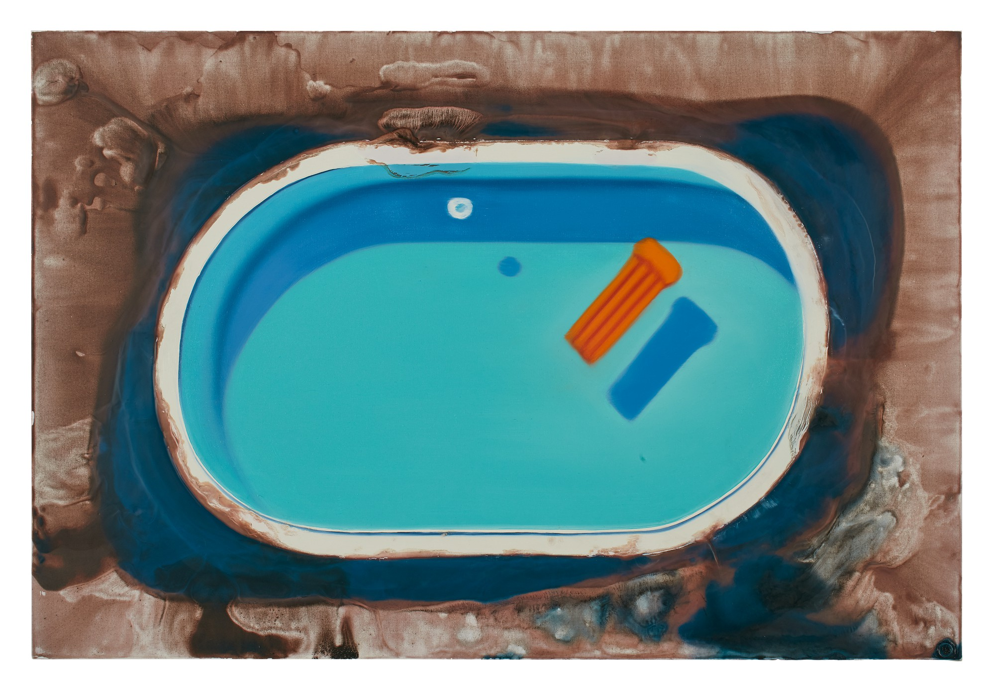 DIRK SKREBER | BLUE FLOOD WITH POOL