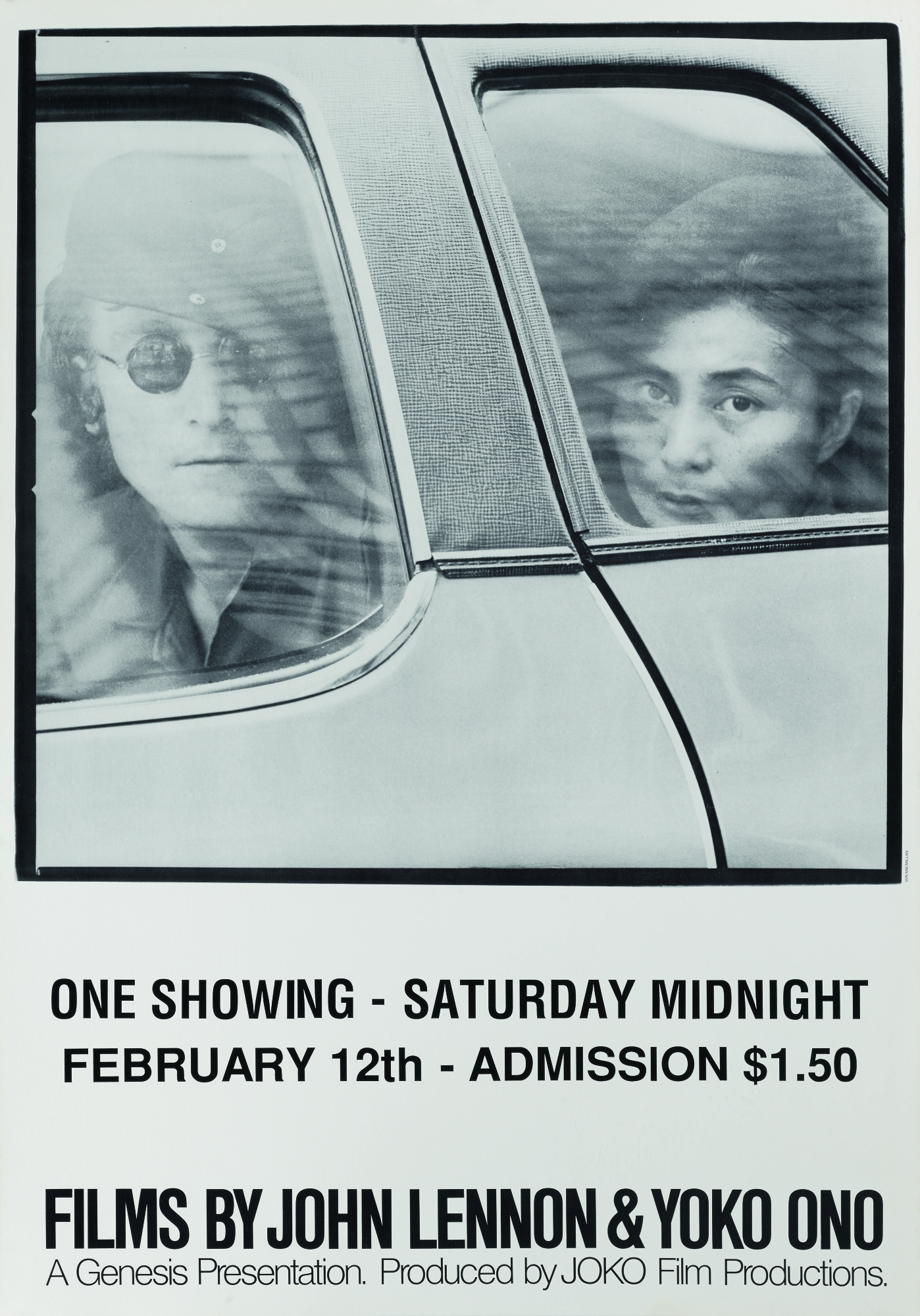 Films By John Lennon Yoko Ono 1972 Poster Us Original Film Posters Online Collectibles Sotheby S
