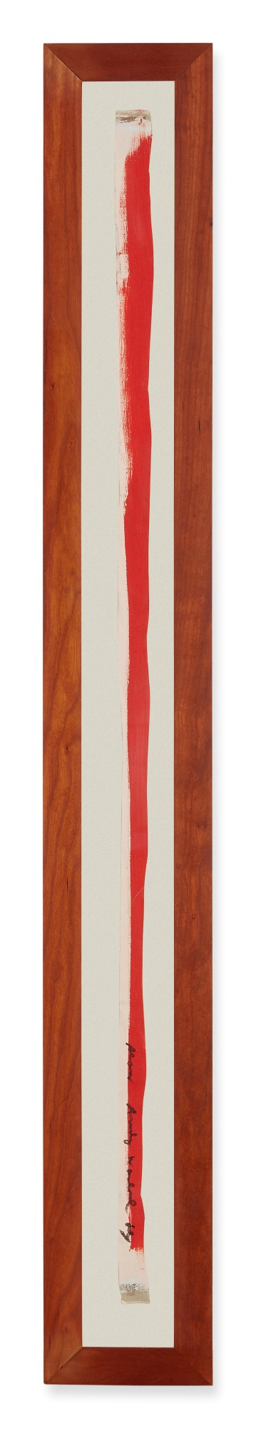 View full screen - View 1 of Lot 1056. ANDY WARHOL | UNTITLED (TIE).
