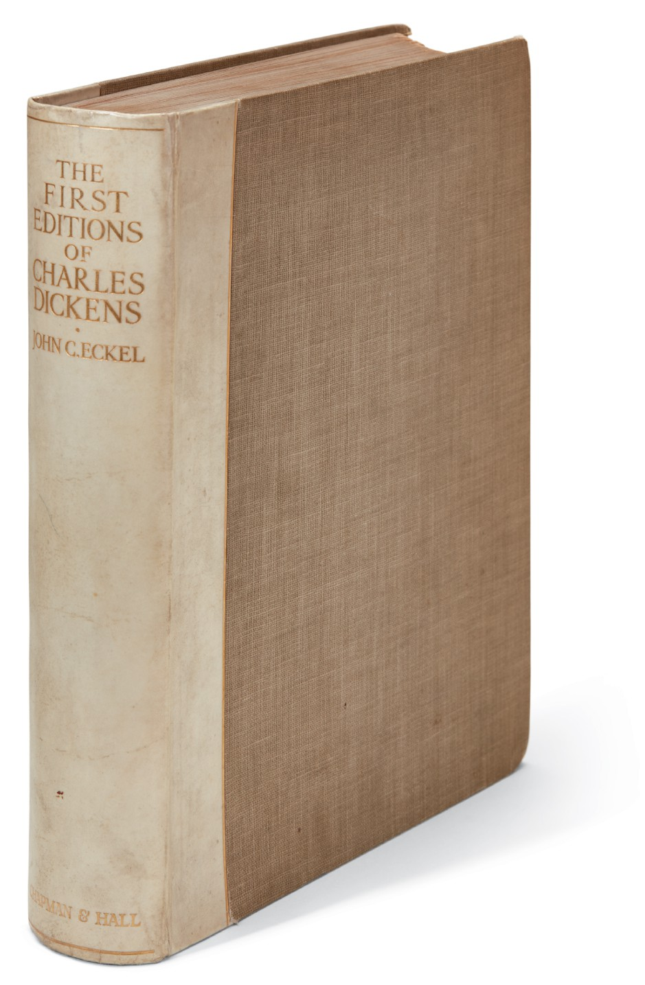 Lot 242 Eckel, First Editions of Charles Dickens, 1913, number 21 of 250
