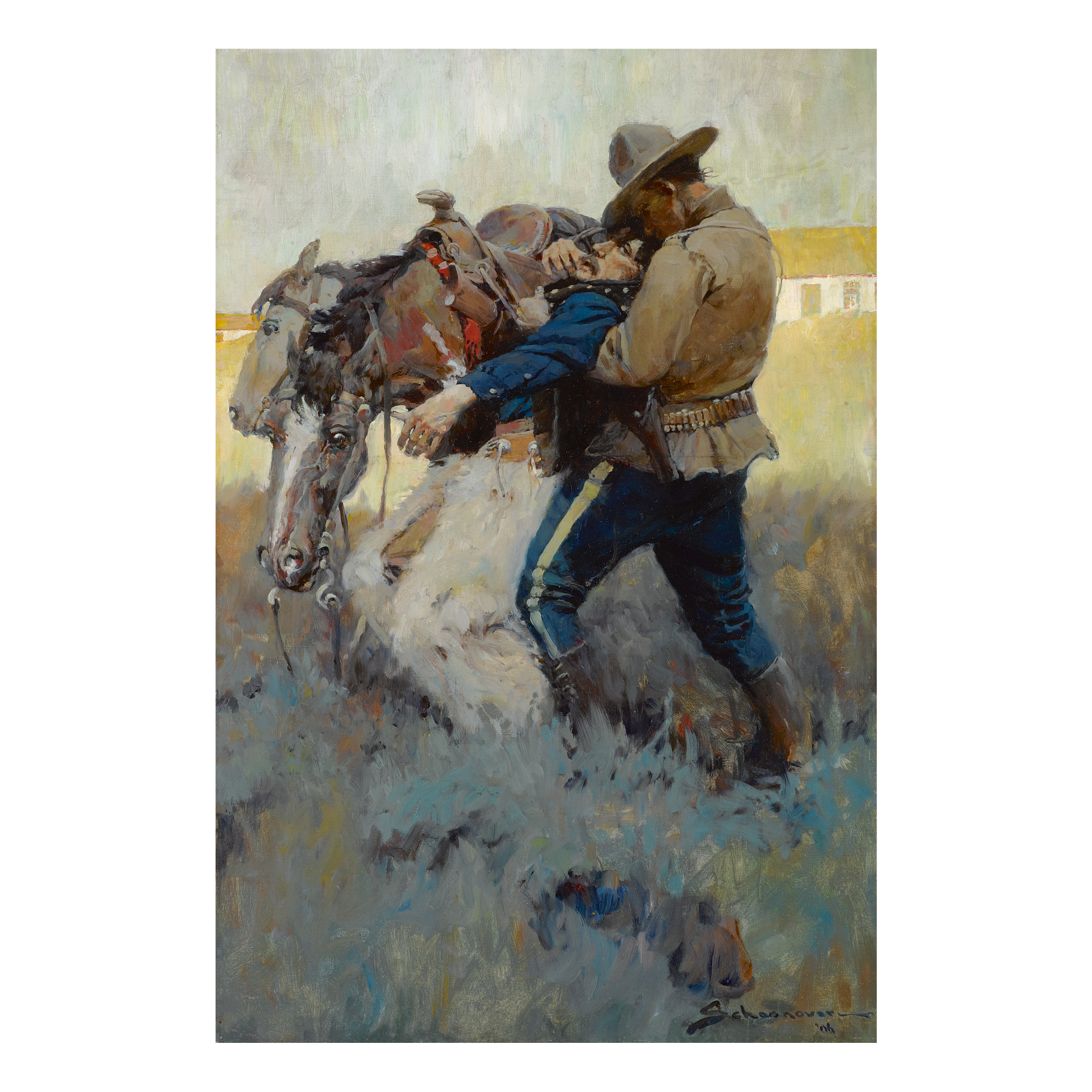 FRANK EARLE SCHOONOVER | GOT HERE ON TIME