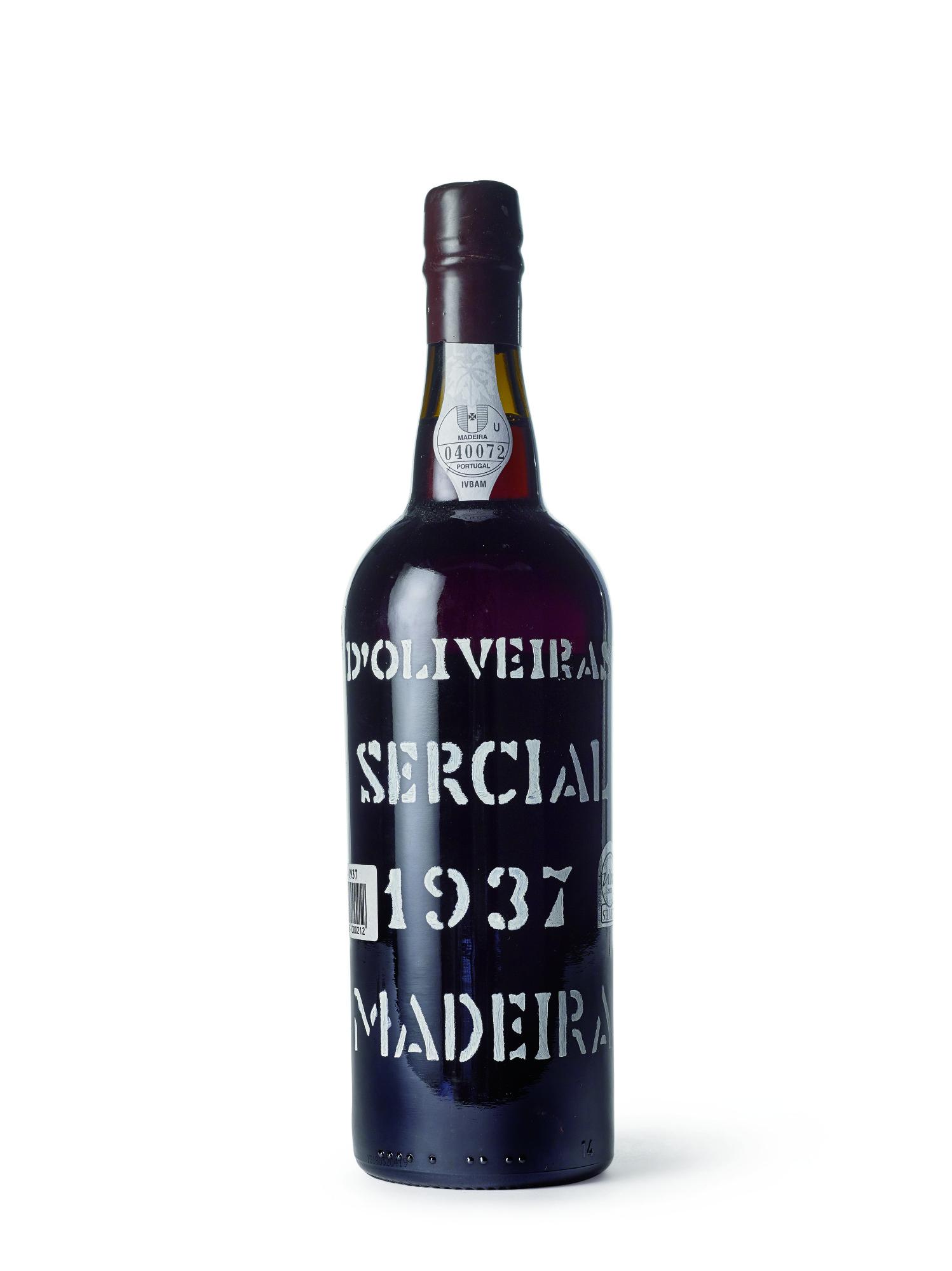 D'Oliveira, Madeira, Sercial 1937