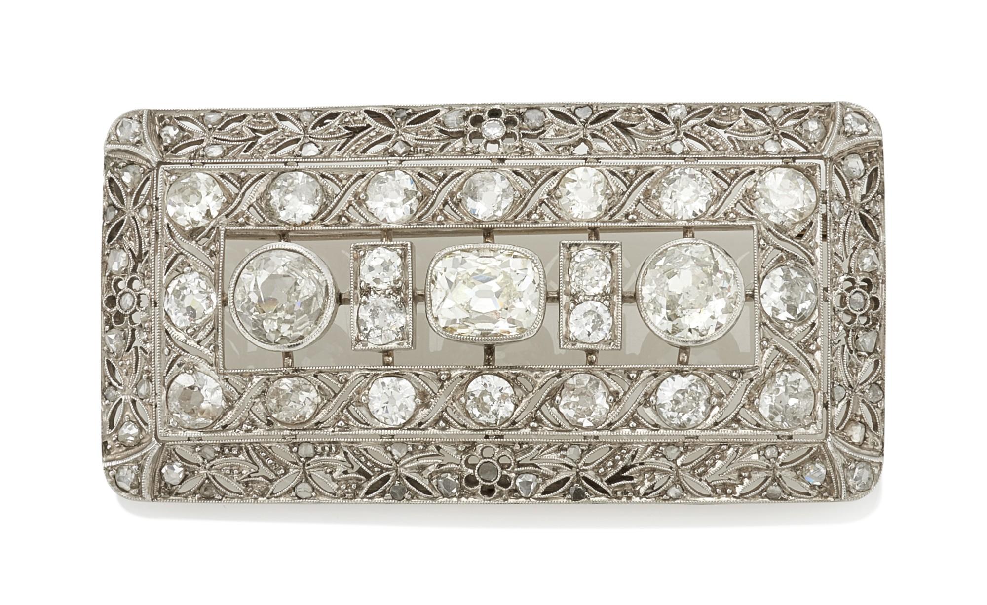 DIAMOND BROOCH (SPILLA IN DIAMANTI)