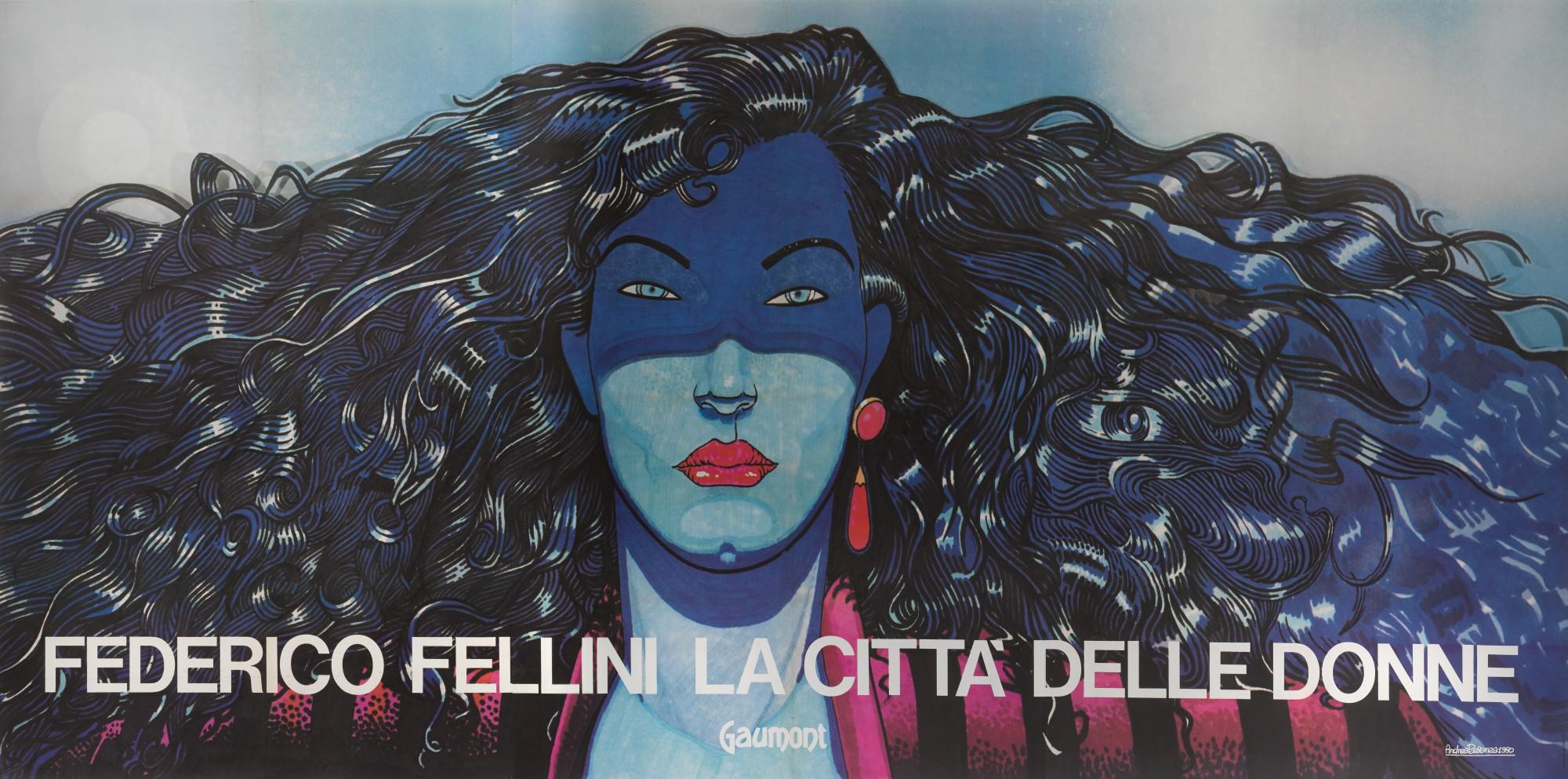 LA CITTA DELLE DONNE / CITY OF WOMEN (1980) POSTER, ITALIAN