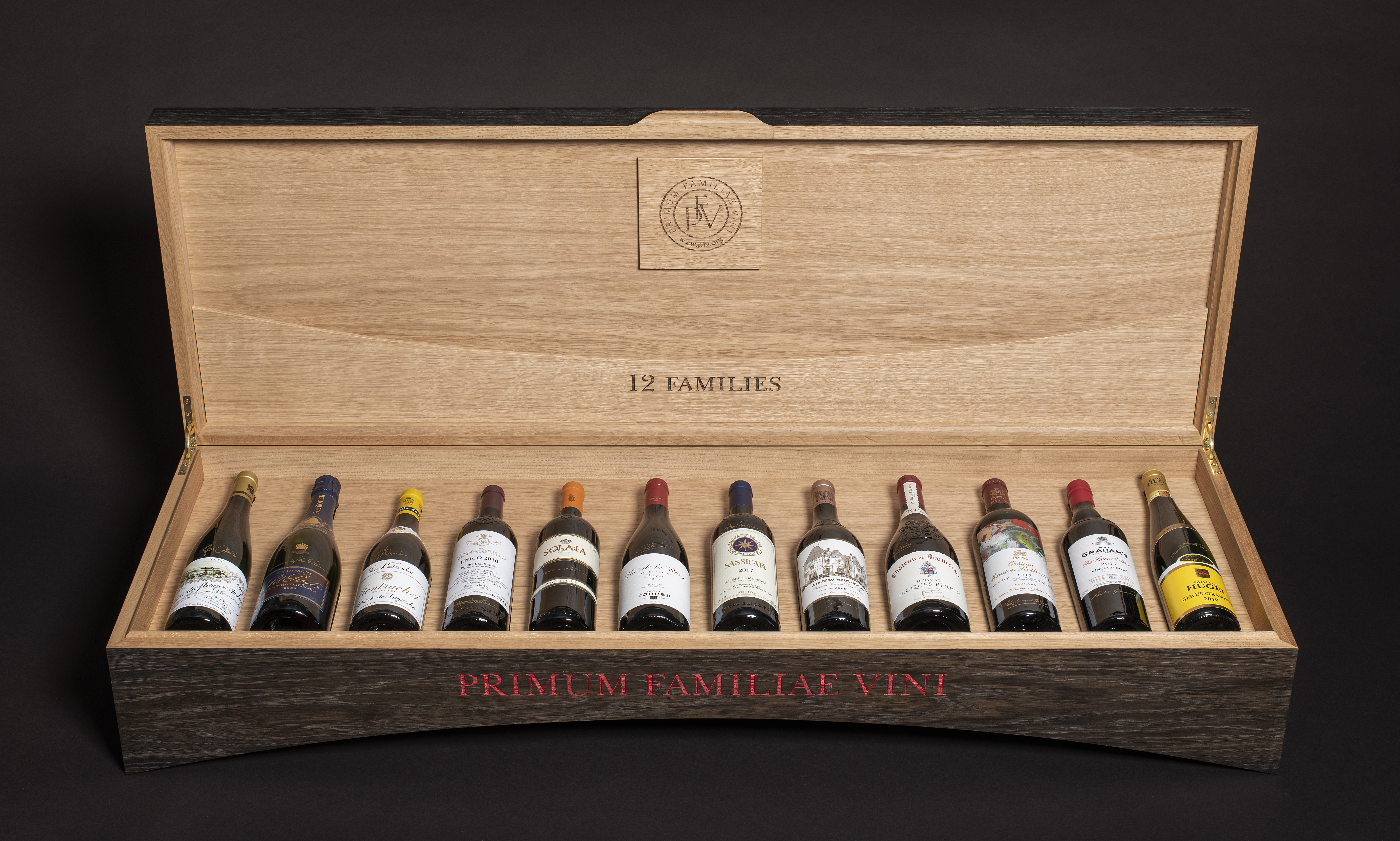 View full screen - View 1 of Lot 1. The Primum Familiae Vini 2020 Limited Edition Case & Passport (12 BT).