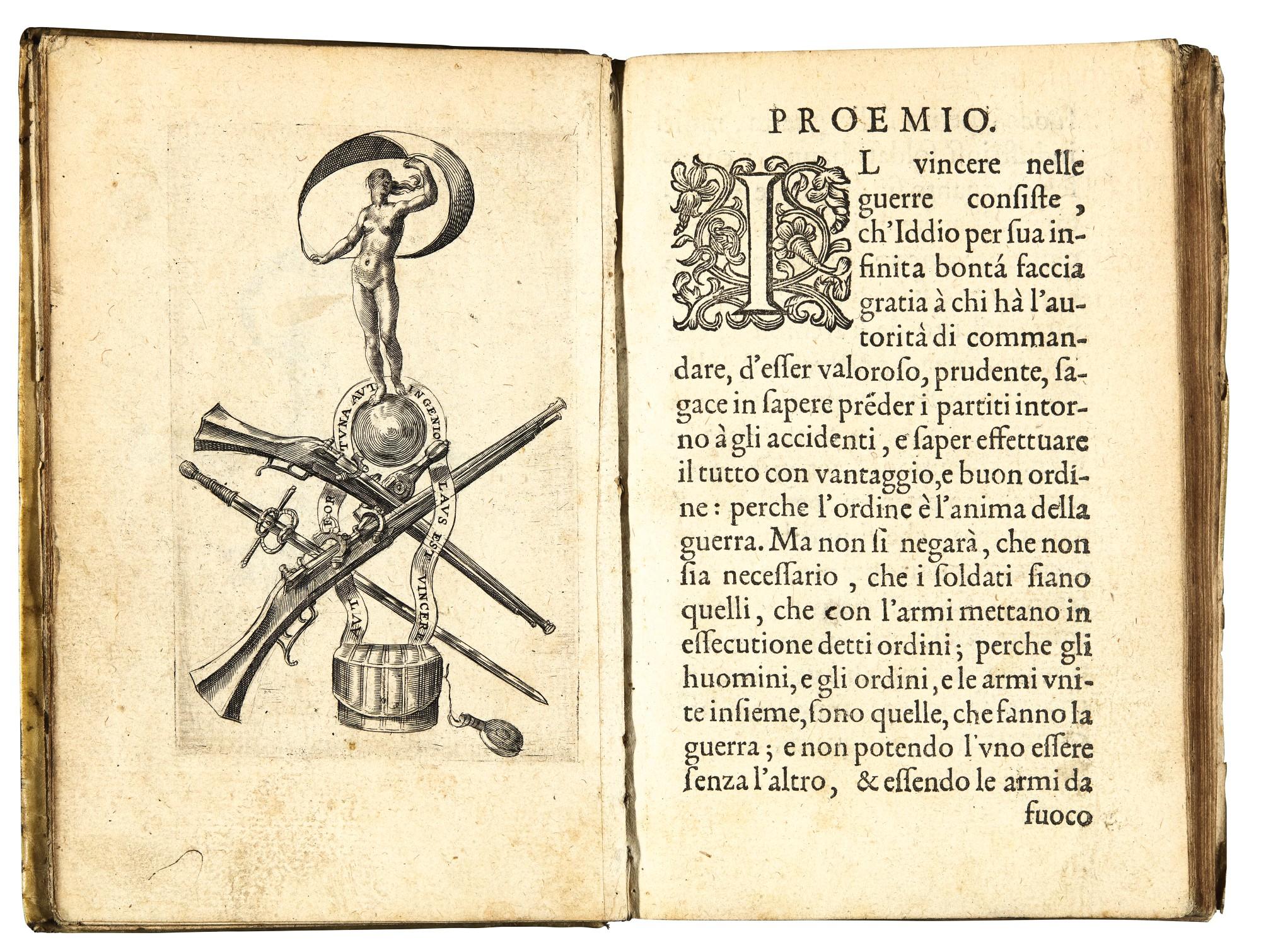 Artillery, works in Italian, by Alberghetti, Bossi, Gentilini, Papacino d'Antoni, Sardi, Zonta, 6 volumes